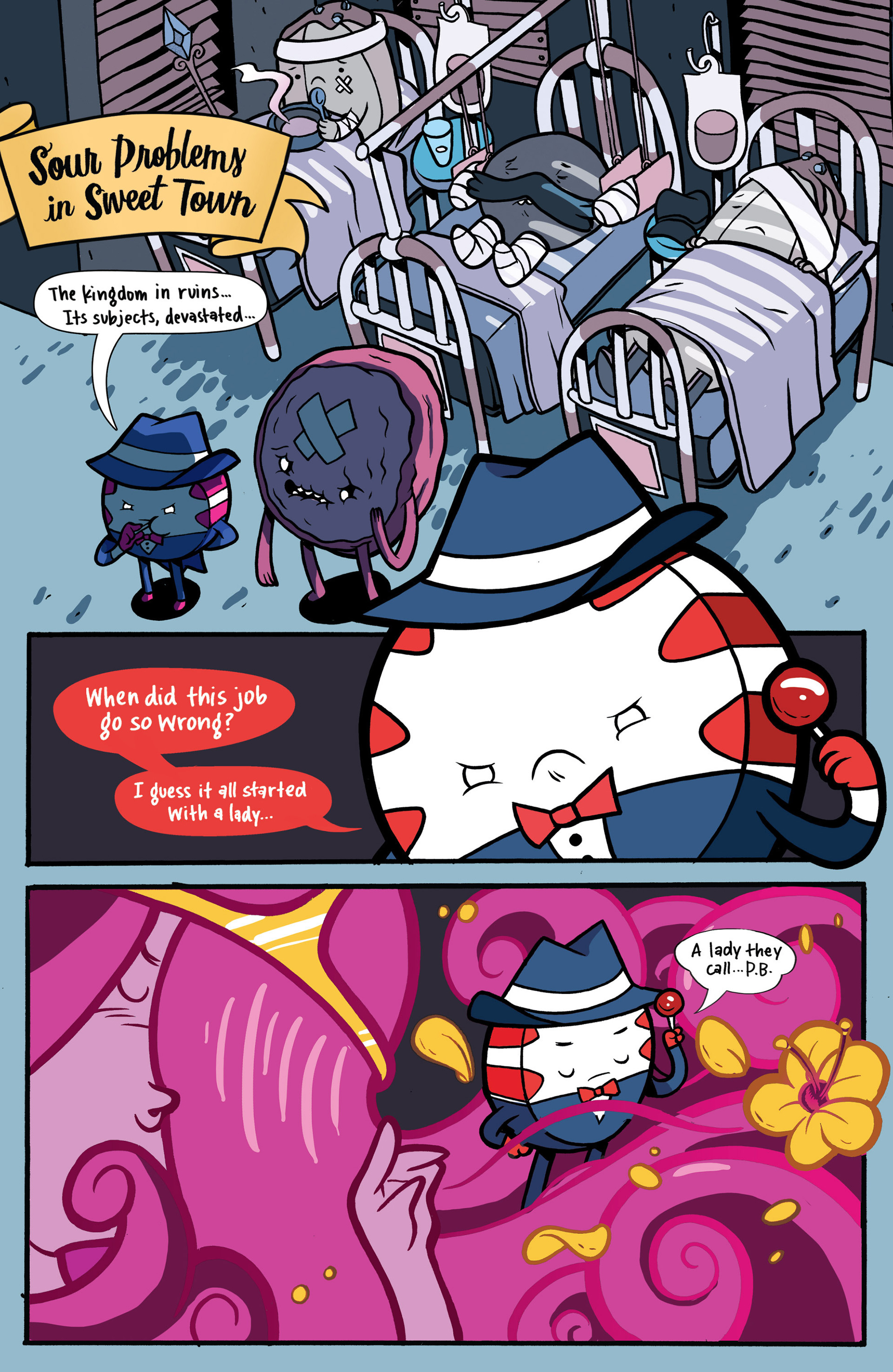 Read online Adventure Time: Candy Capers comic -  Issue #1 - 6