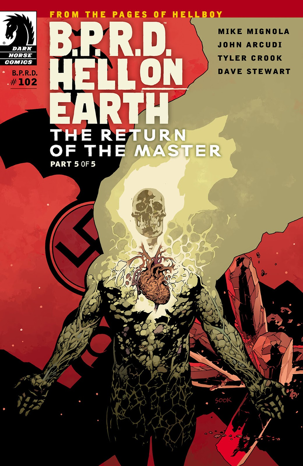 Read online B.P.R.D. Hell on Earth: The Return of the Master comic -  Issue #5 - 1