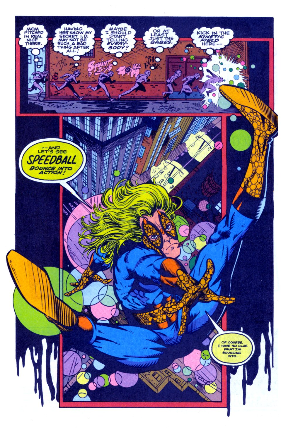 The New Warriors Issue #32 #36 - English 17