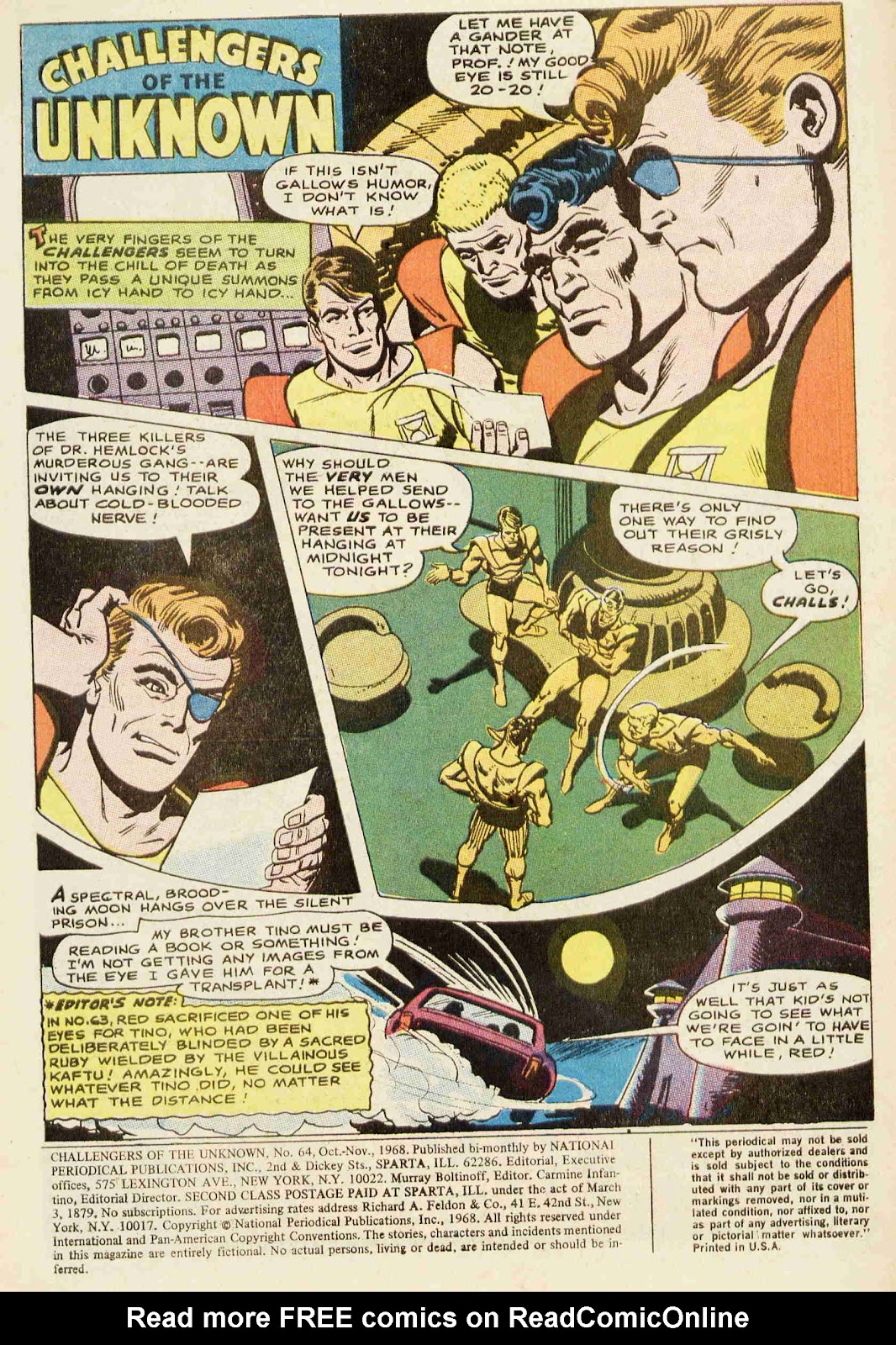 Challengers of the Unknown (1958) issue 64 - Page 2