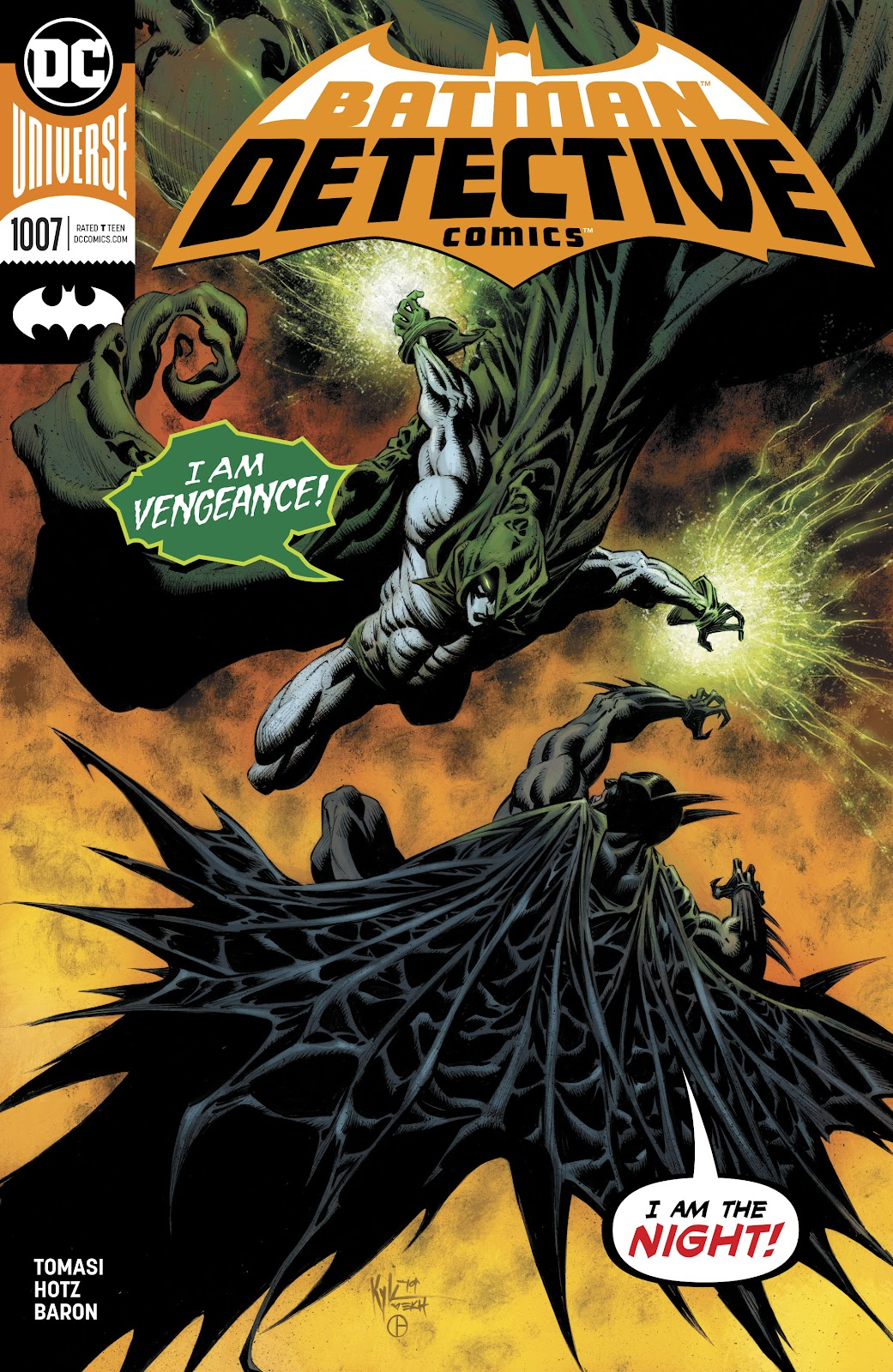 Detective Comics (2016) issue 1007 - Page 1