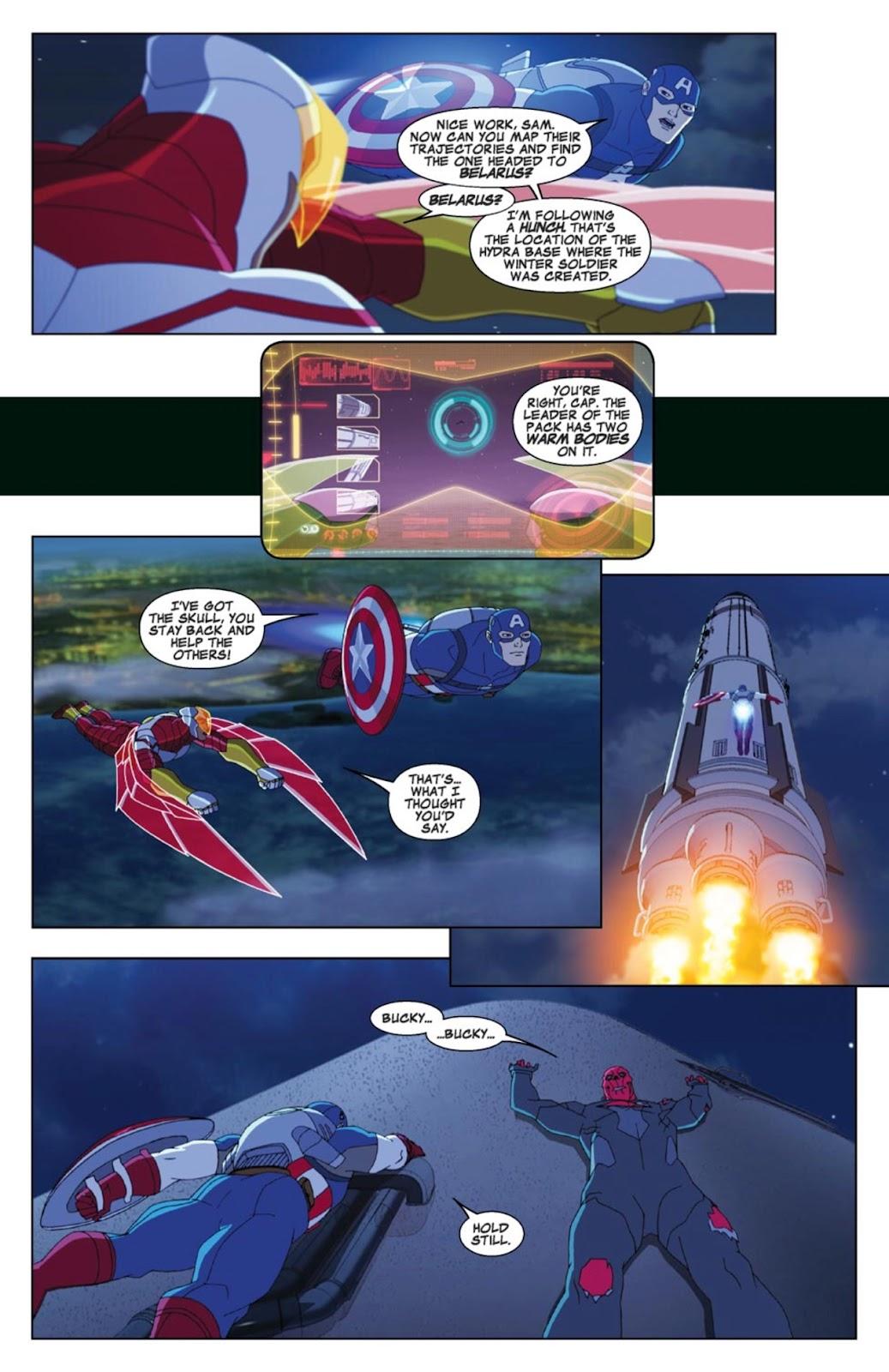 Read online Marvel Universe Avengers Assemble Season 2 comic -  Issue #4 - 18