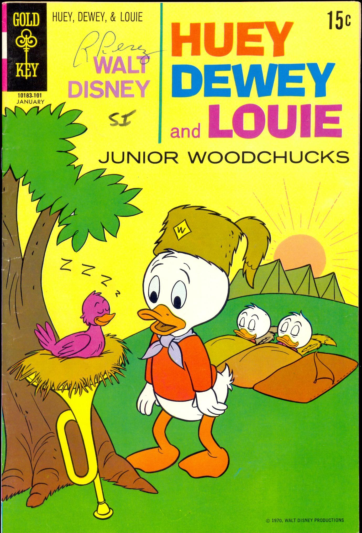 Huey, Dewey, and Louie Junior Woodchucks 8 Page 1