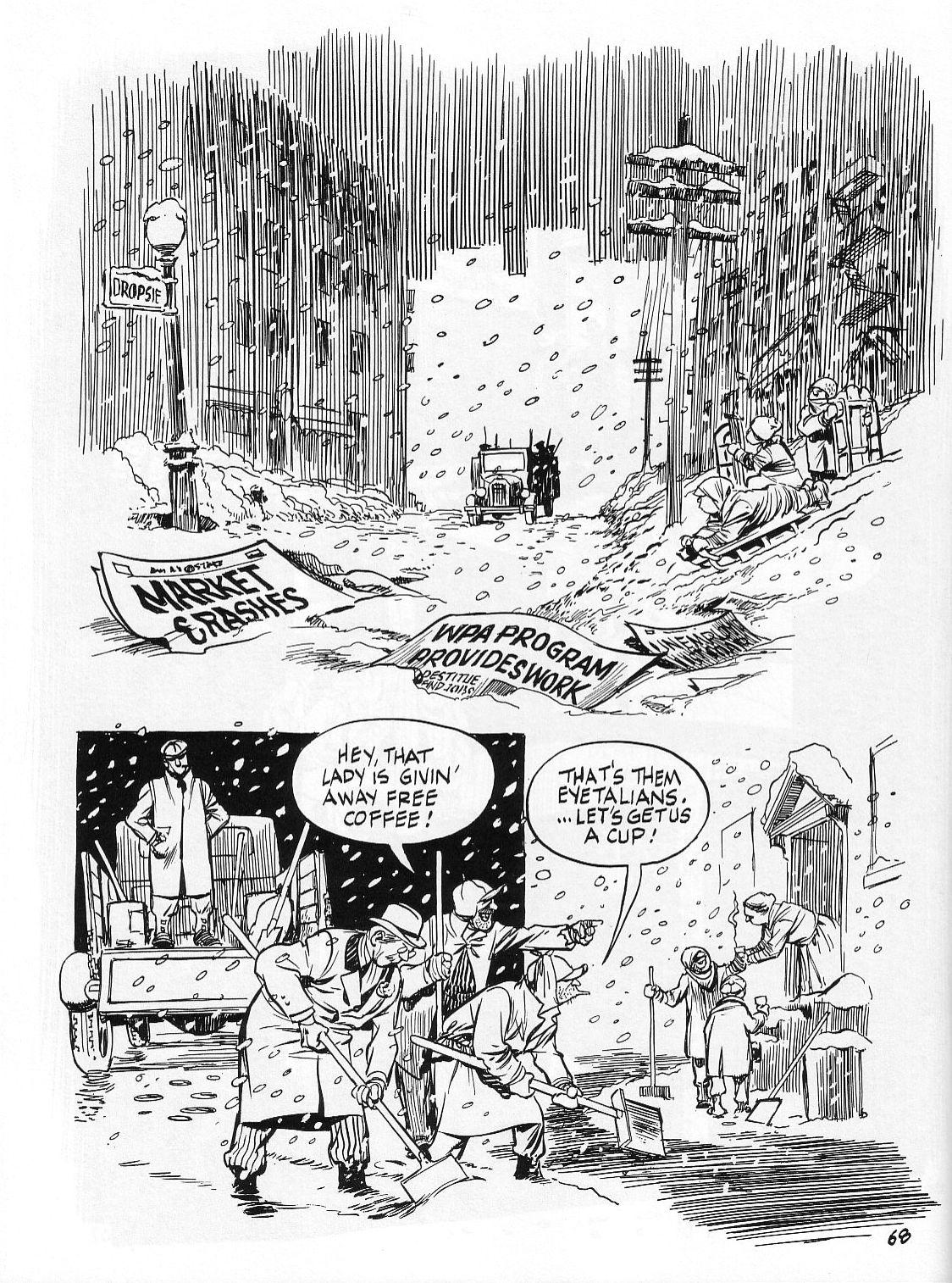 Read online Dropsie Avenue, The Neighborhood comic -  Issue # Full - 70