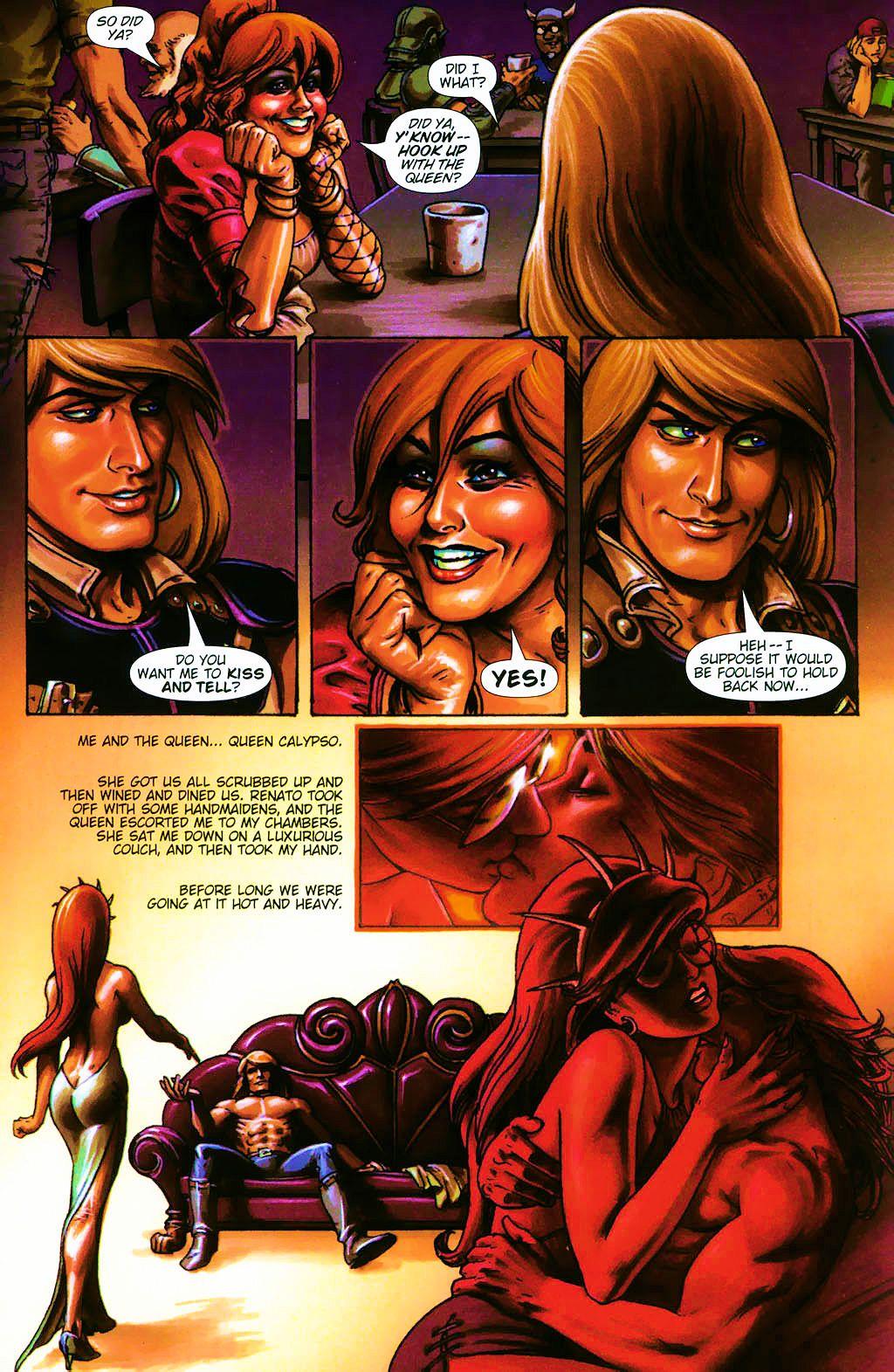 Read online Dawn: Three Tiers comic -  Issue #4 - 3