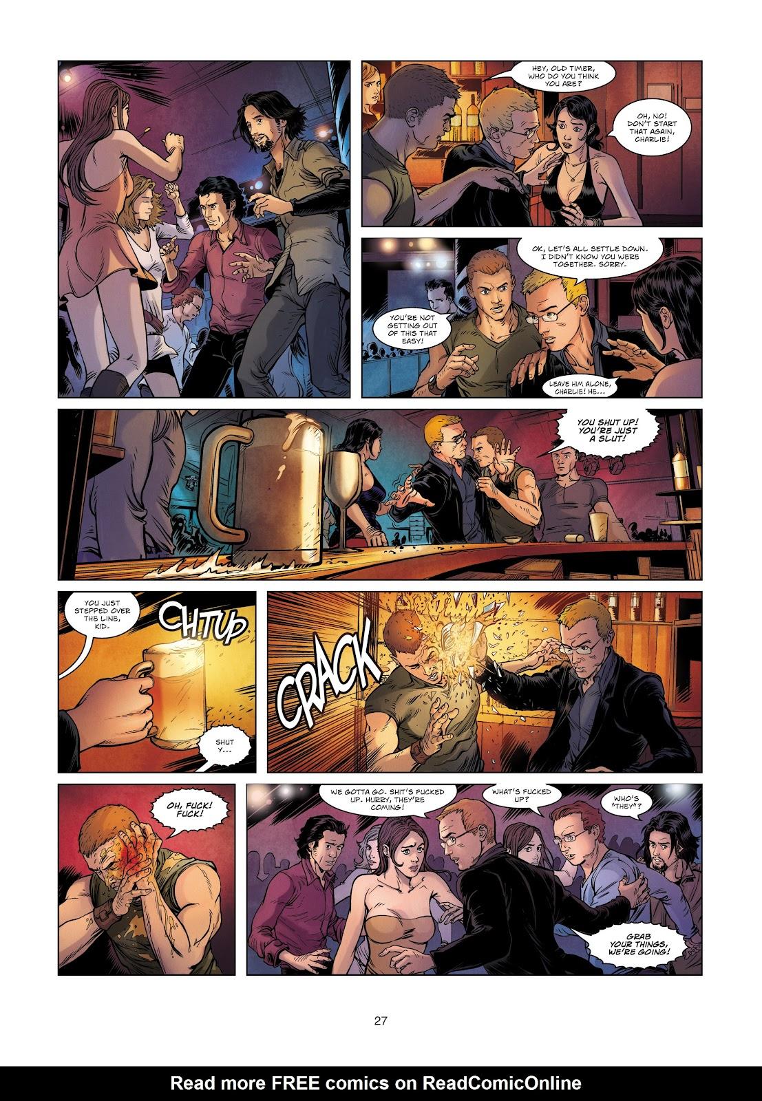 Read online Vigilantes comic -  Issue #2 - 27