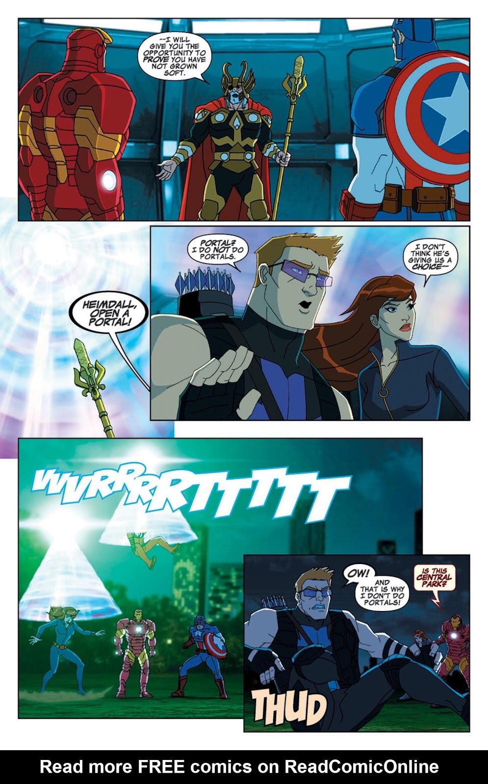 Read online Marvel Universe Avengers Assemble Season 2 comic -  Issue #7 - 5
