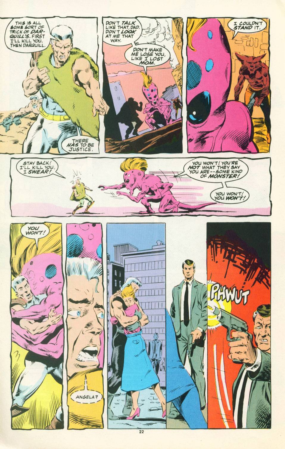 Read online Justice (1986) comic -  Issue #22 - 23