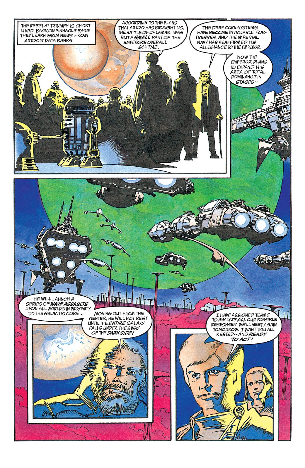 Read online Star Wars: Dark Empire Trilogy comic -  Issue # TPB (Part 2) - 42
