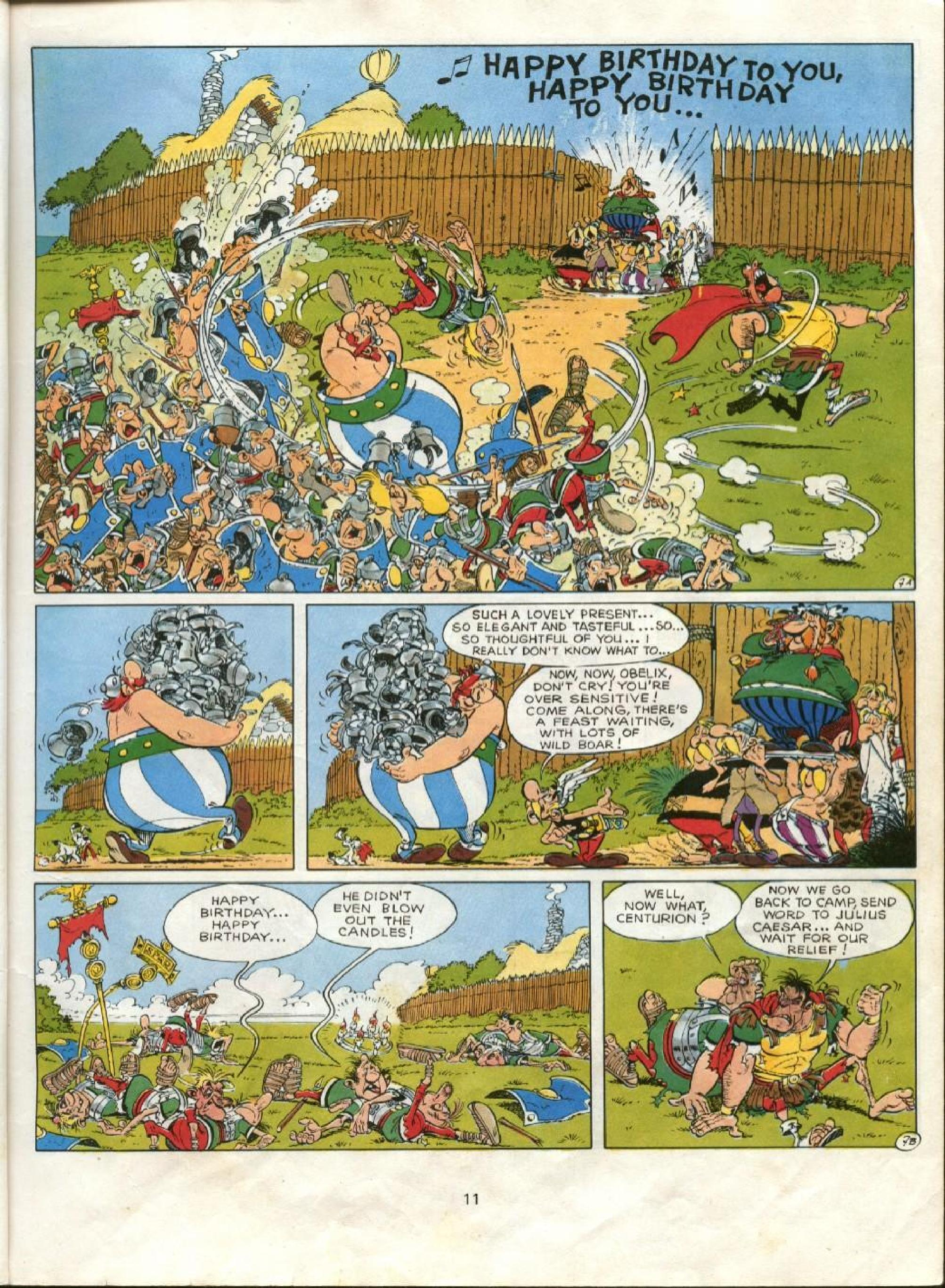 Read online Asterix comic -  Issue #23 - 8