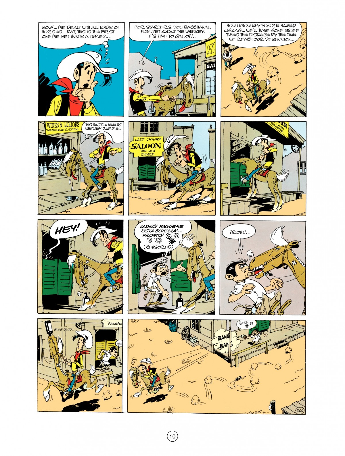 Read online A Lucky Luke Adventure comic -  Issue #38 - 10