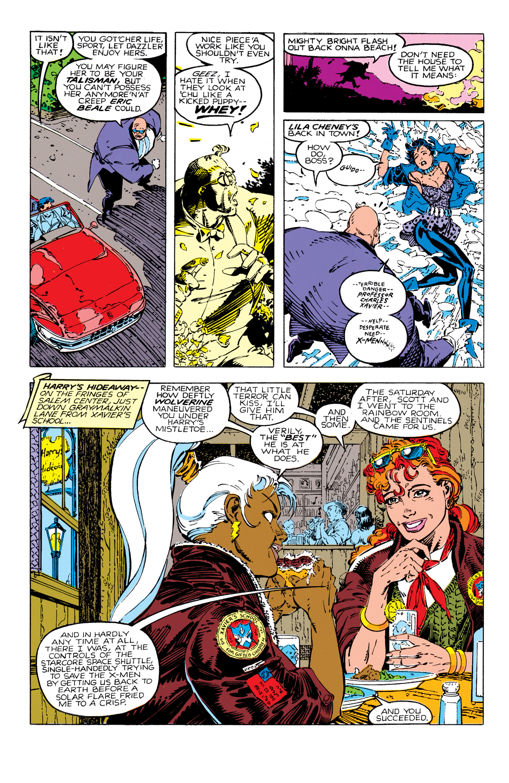 Read online Uncanny X-Men (1963) comic -  Issue #270 - 10