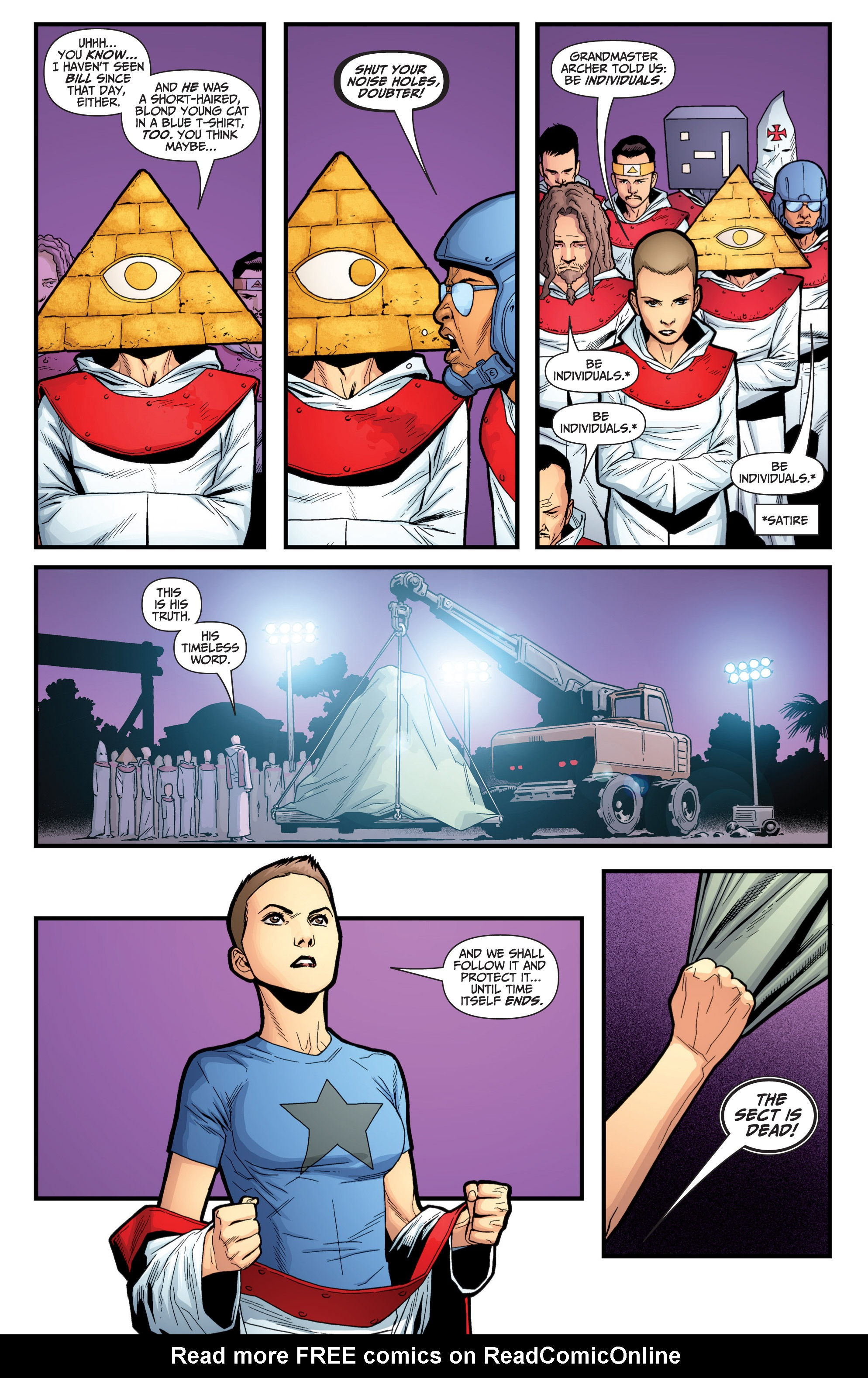 Read online Archer and Armstrong comic -  Issue #Archer and Armstrong _TPB 6 - 106