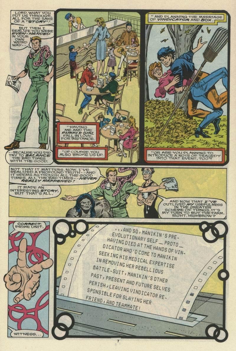 Read online Alpha Flight (1983) comic -  Issue #66 - 8