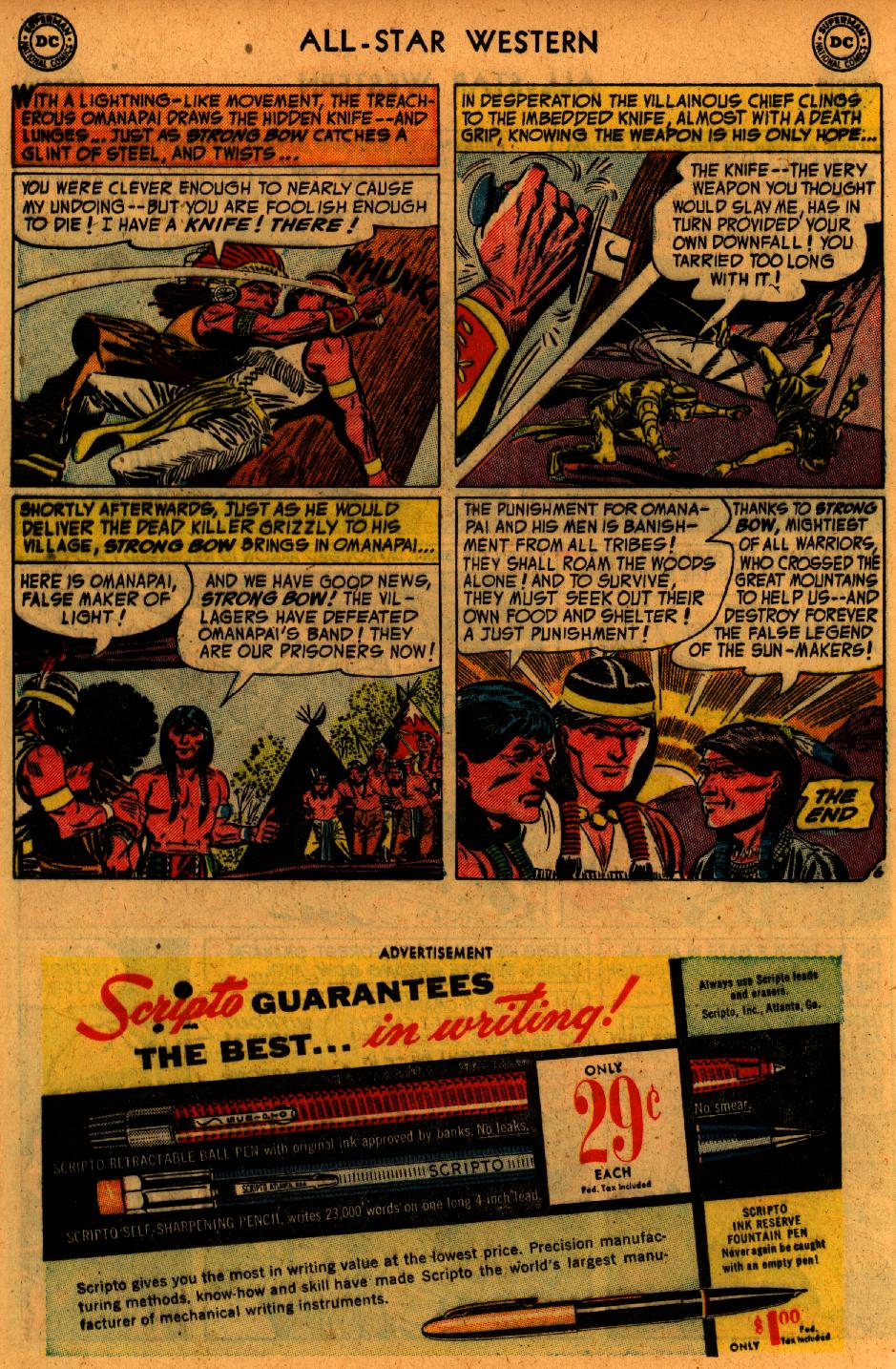 Read online All-Star Western (1951) comic -  Issue #73 - 16