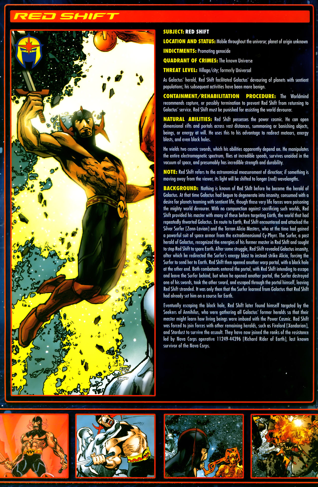 Read online Annihilation:  The  Nova Corps Files comic -  Issue #Annihilation:  The  Nova Corps Files Full - 31