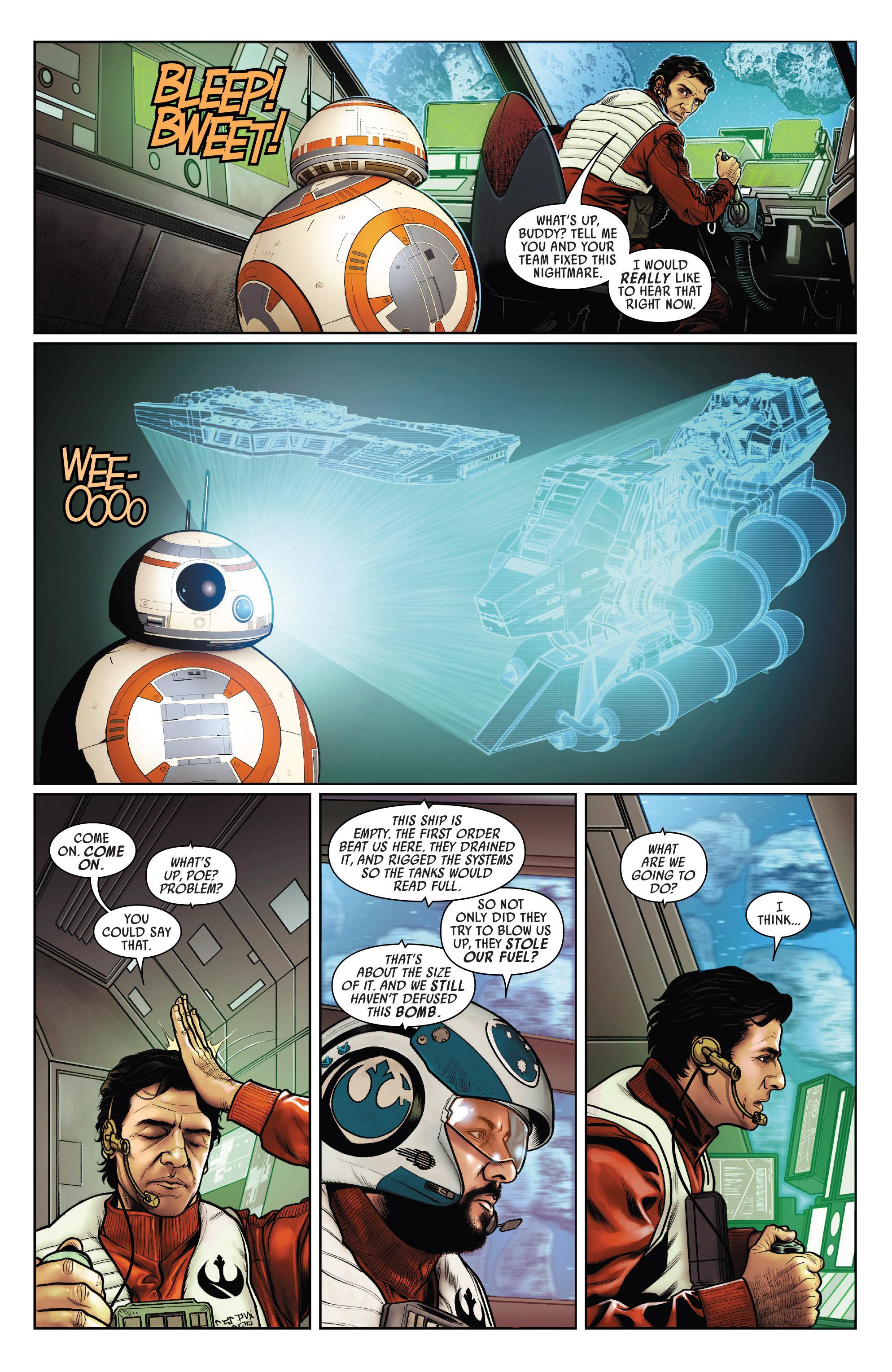 Read online Star Wars: Poe Dameron comic -  Issue #15 - 21