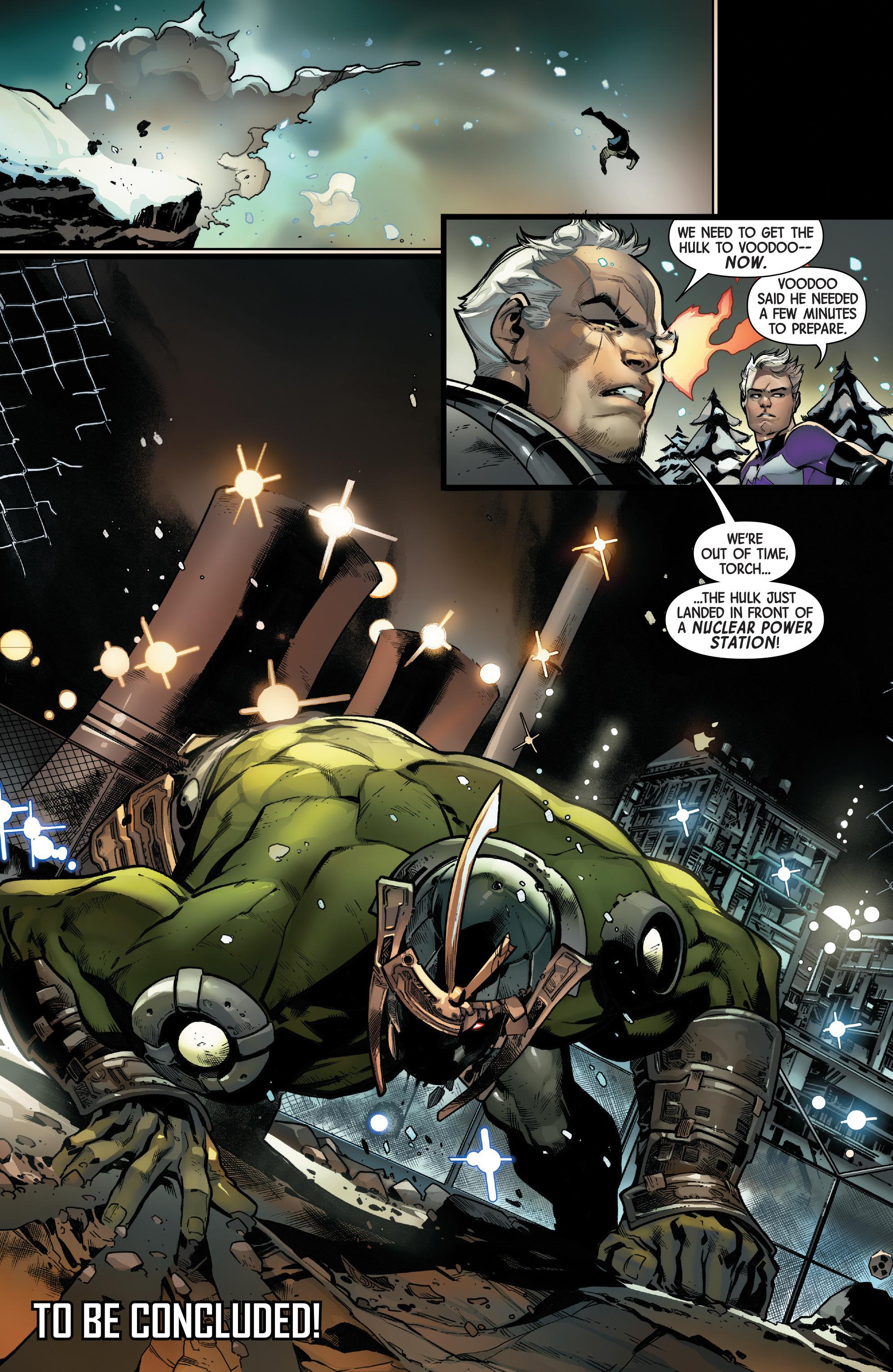 Read online Uncanny Avengers [II] comic -  Issue #16 - 21