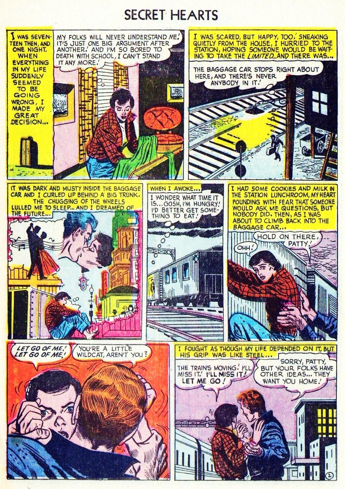 Read online Secret Hearts comic -  Issue #15 - 12
