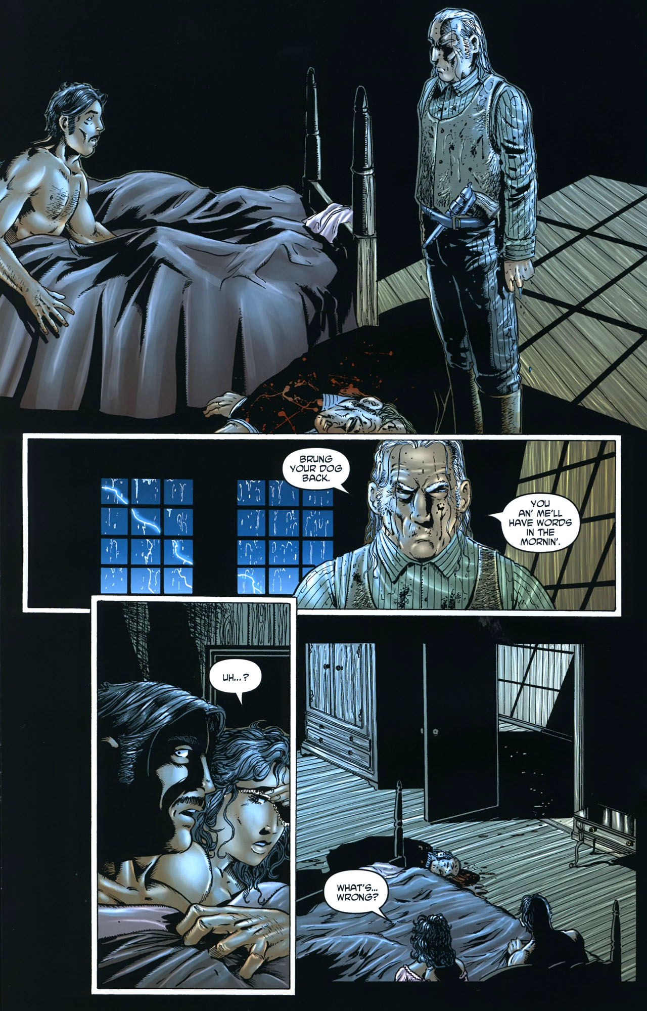 Read online Garth Ennis' Streets of Glory comic -  Issue #5 - 22