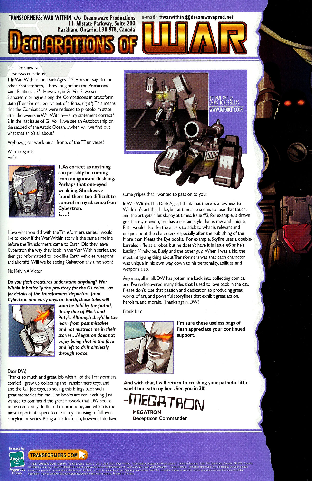 "Read online Transformers War Within: ""The Dark Ages"" comic -  Issue #6 - 23"