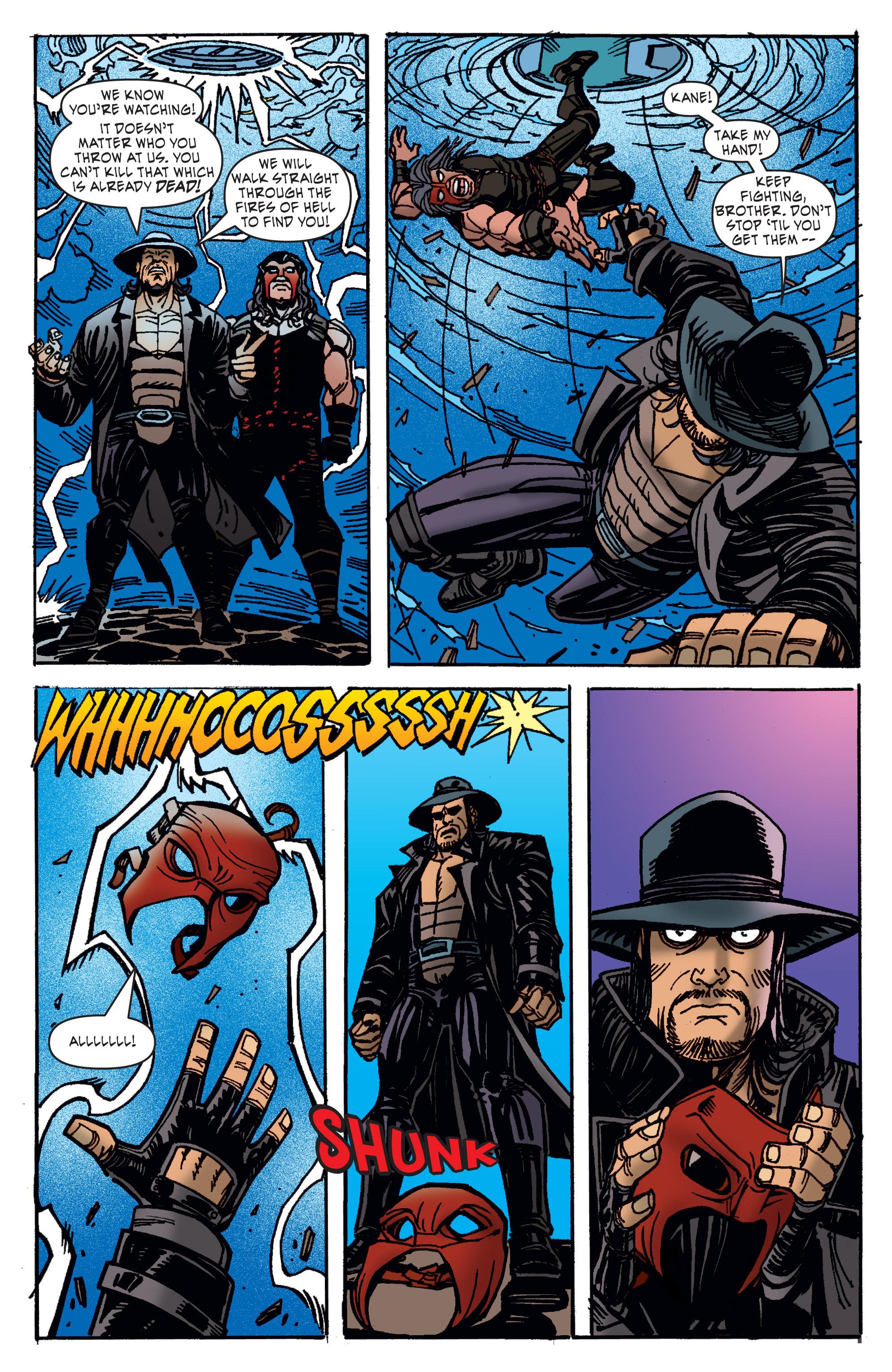 Read online WWE Superstars comic -  Issue #11 - 20