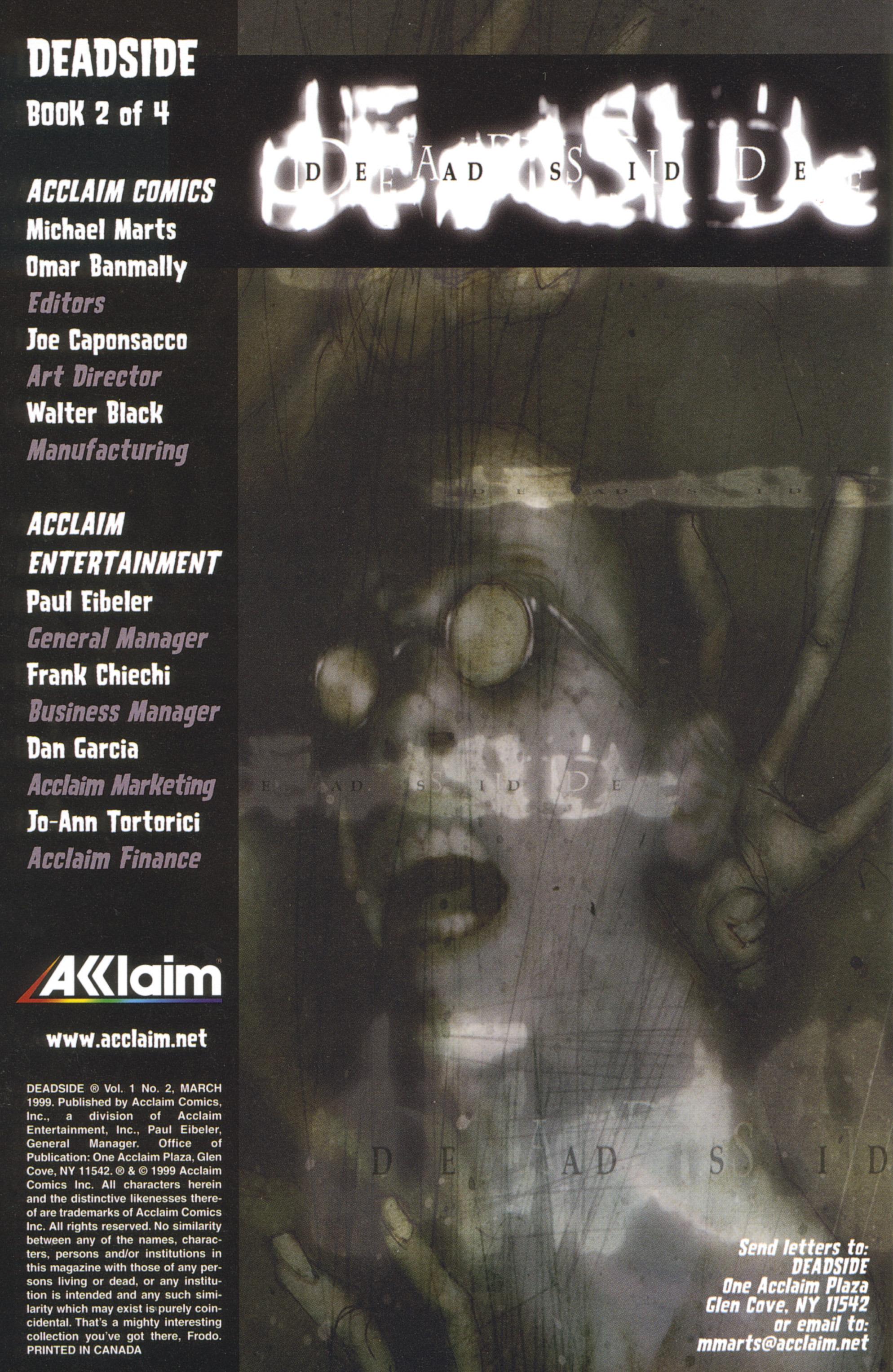 Read online Deadside comic -  Issue #2 - 4
