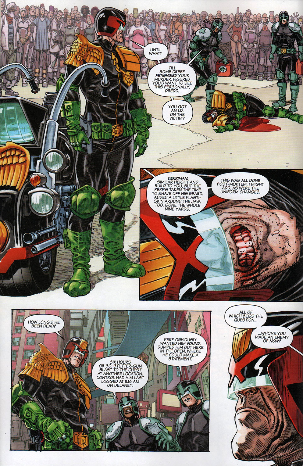 Read online Free Comic Book Day 2017 comic -  Issue # 2000 AD prog - 4