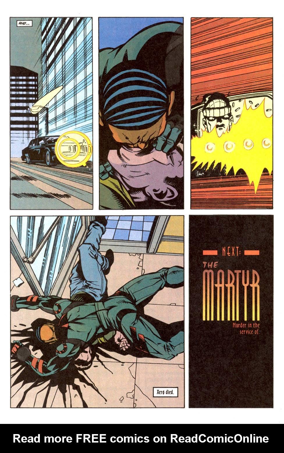 Read online Xero comic -  Issue #11 - 25