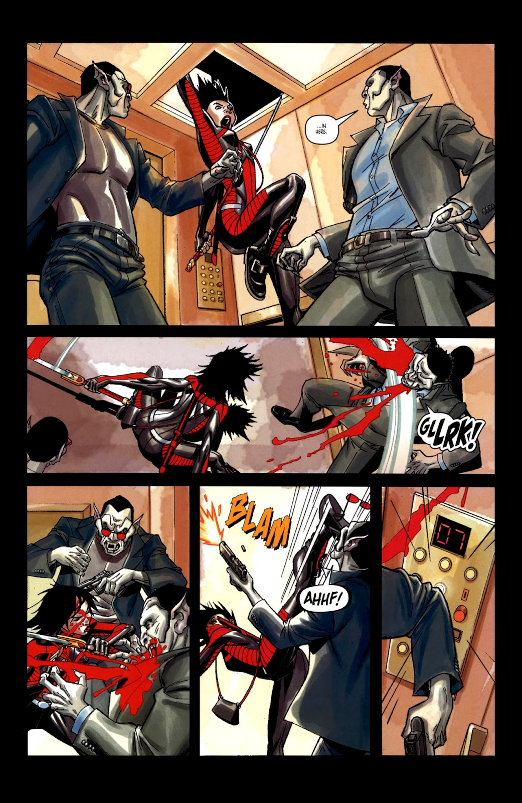 Read online Shinku comic -  Issue #2 - 12