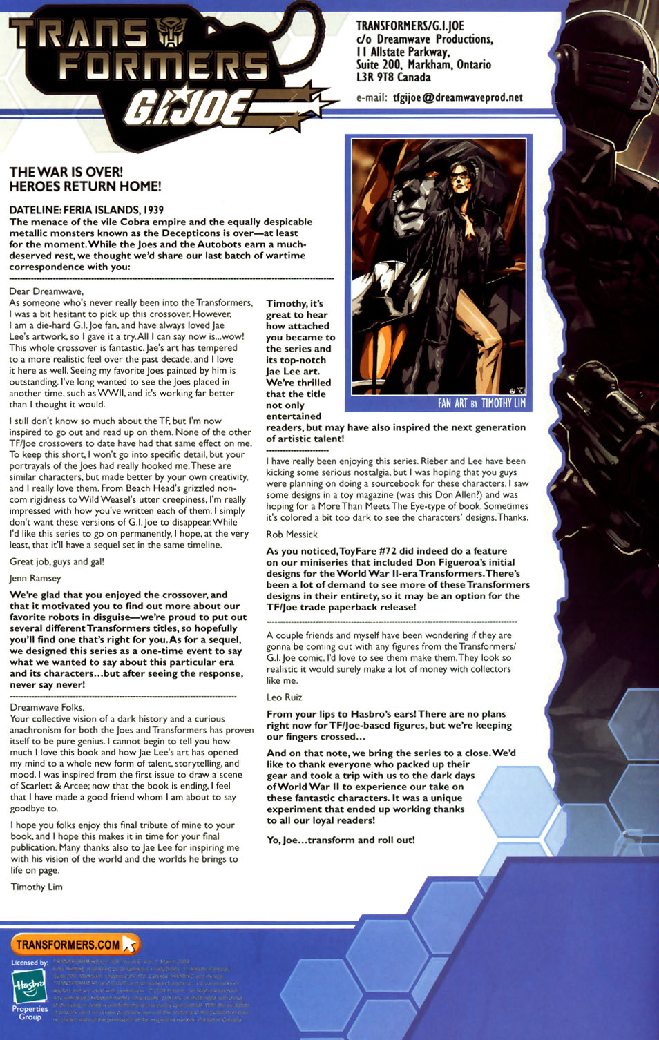 Read online Transformers/G.I. Joe comic -  Issue #6 - 24