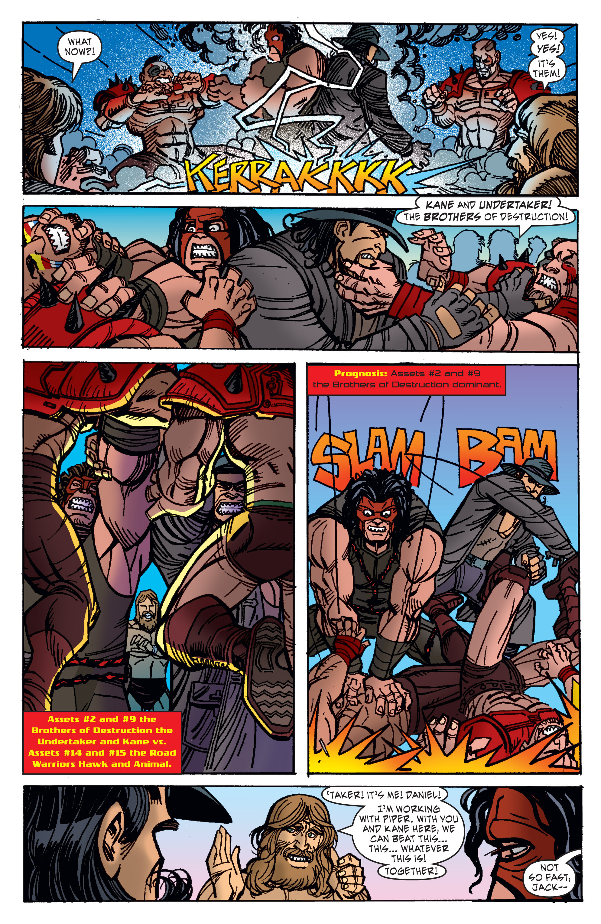 Read online WWE Superstars comic -  Issue #11 - 10