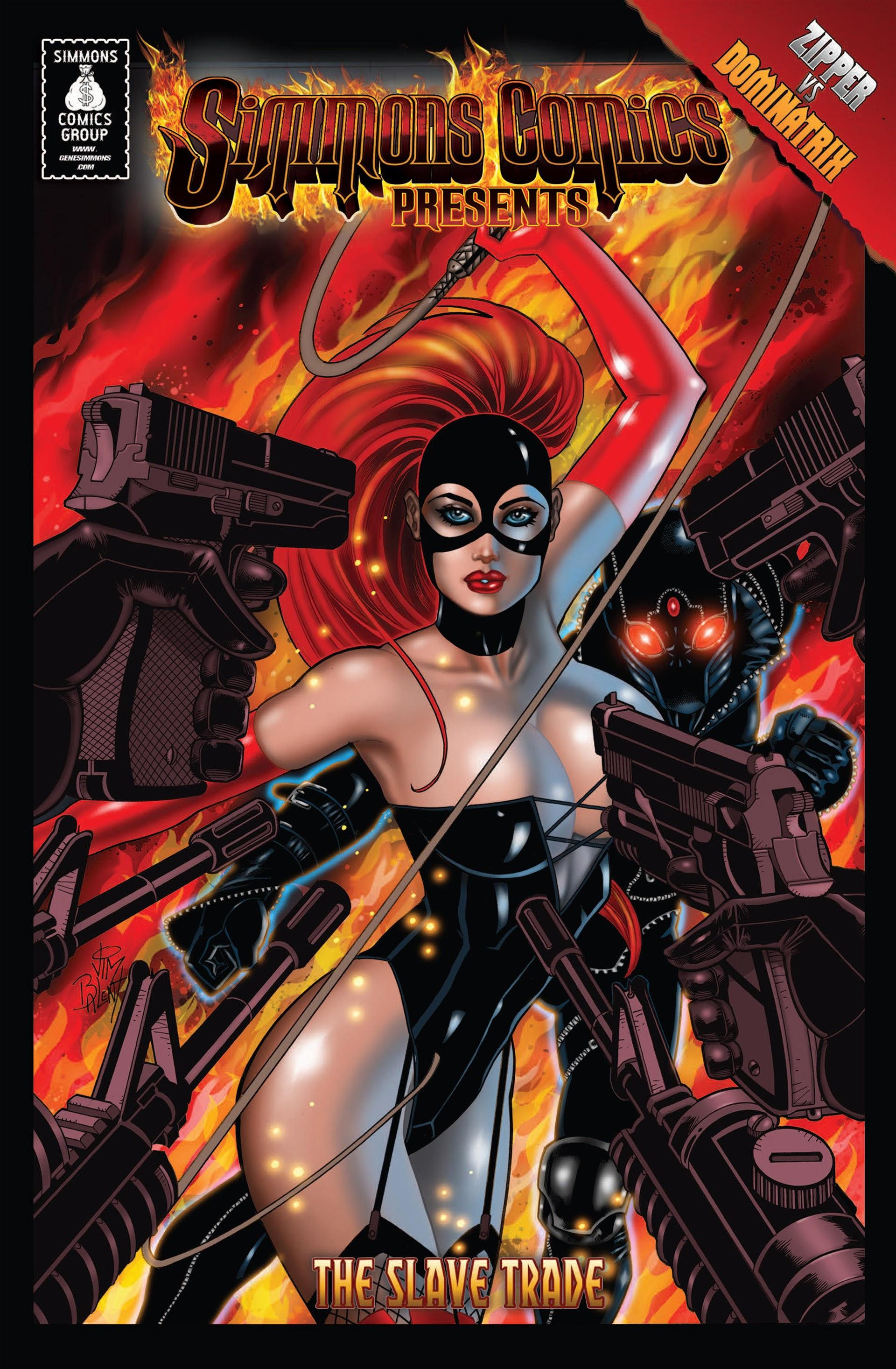Simmons Comics Presents Zipper vs Dominatrix issue TPB - Page 1