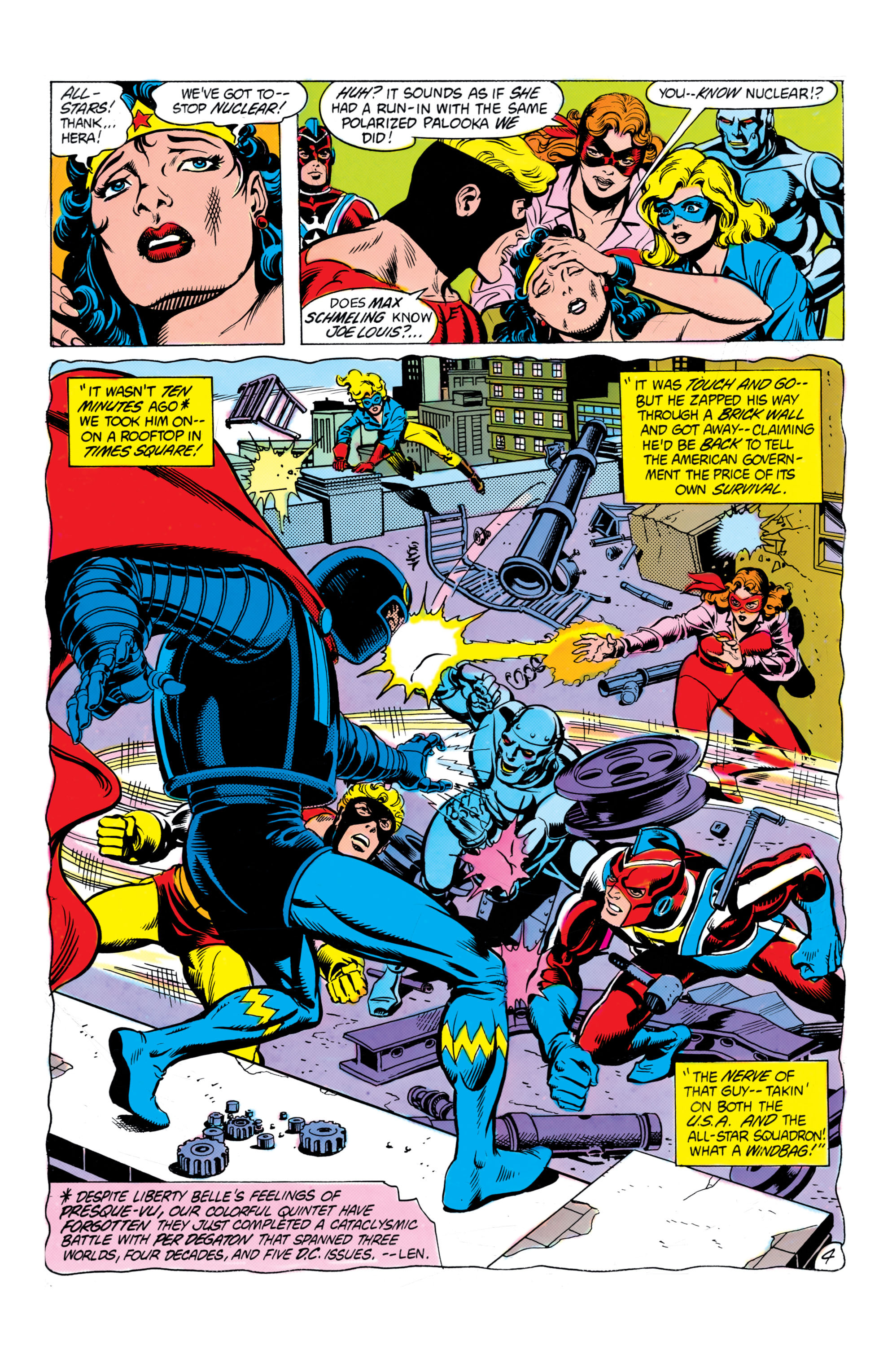 Read online All-Star Squadron comic -  Issue #16 - 5
