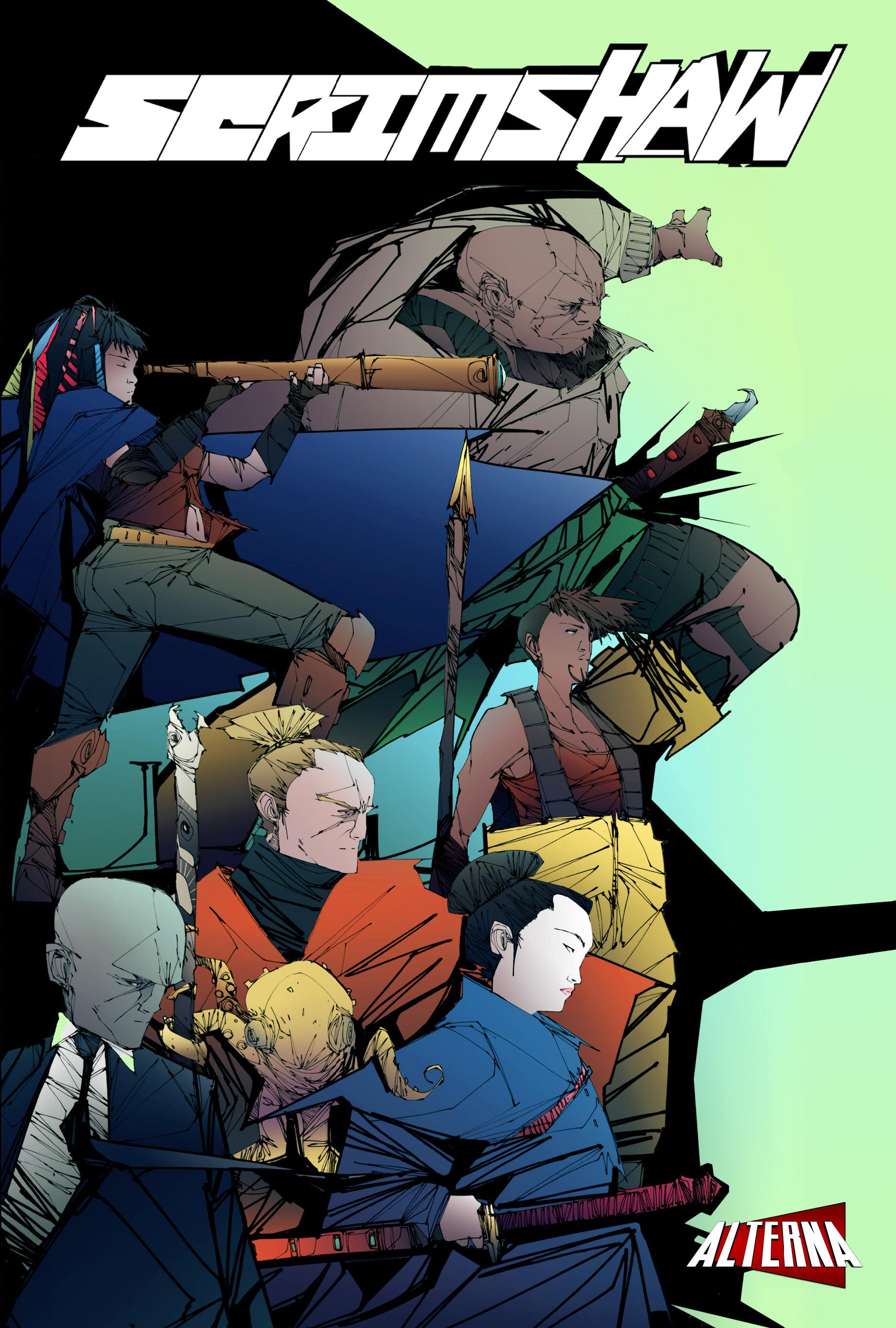 Read online Scrimshaw comic -  Issue #1 - 1