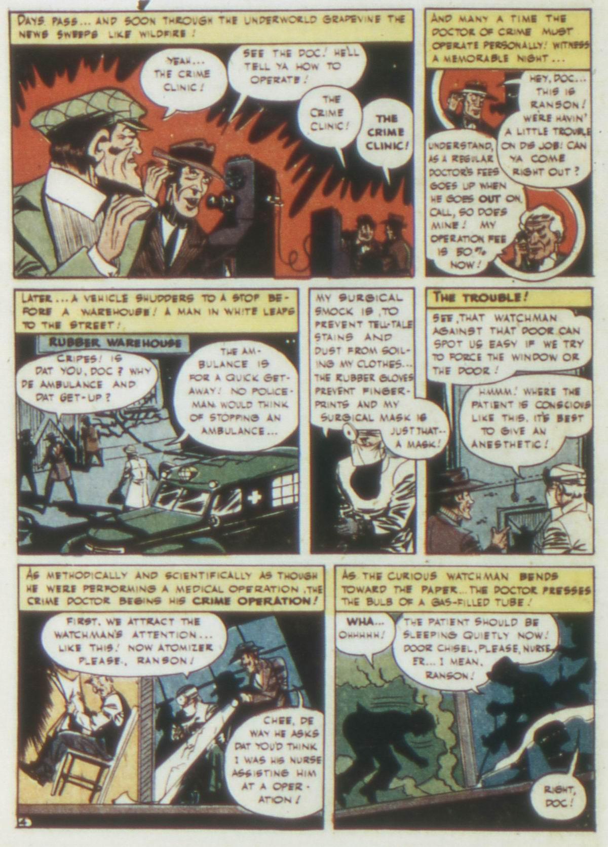 Read online Detective Comics (1937) comic -  Issue #77 - 6