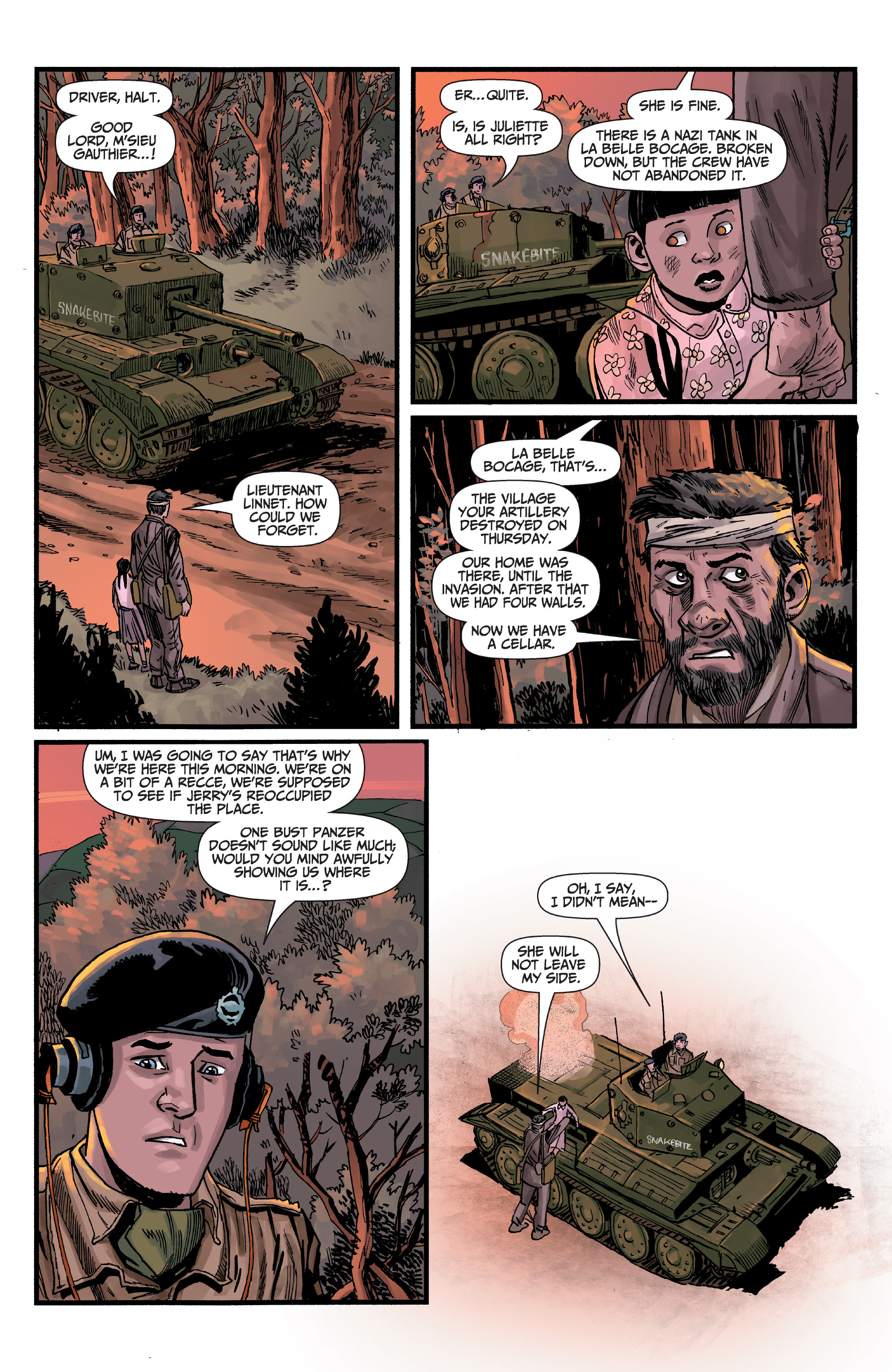 Read online World of Tanks comic -  Issue #5 - 10