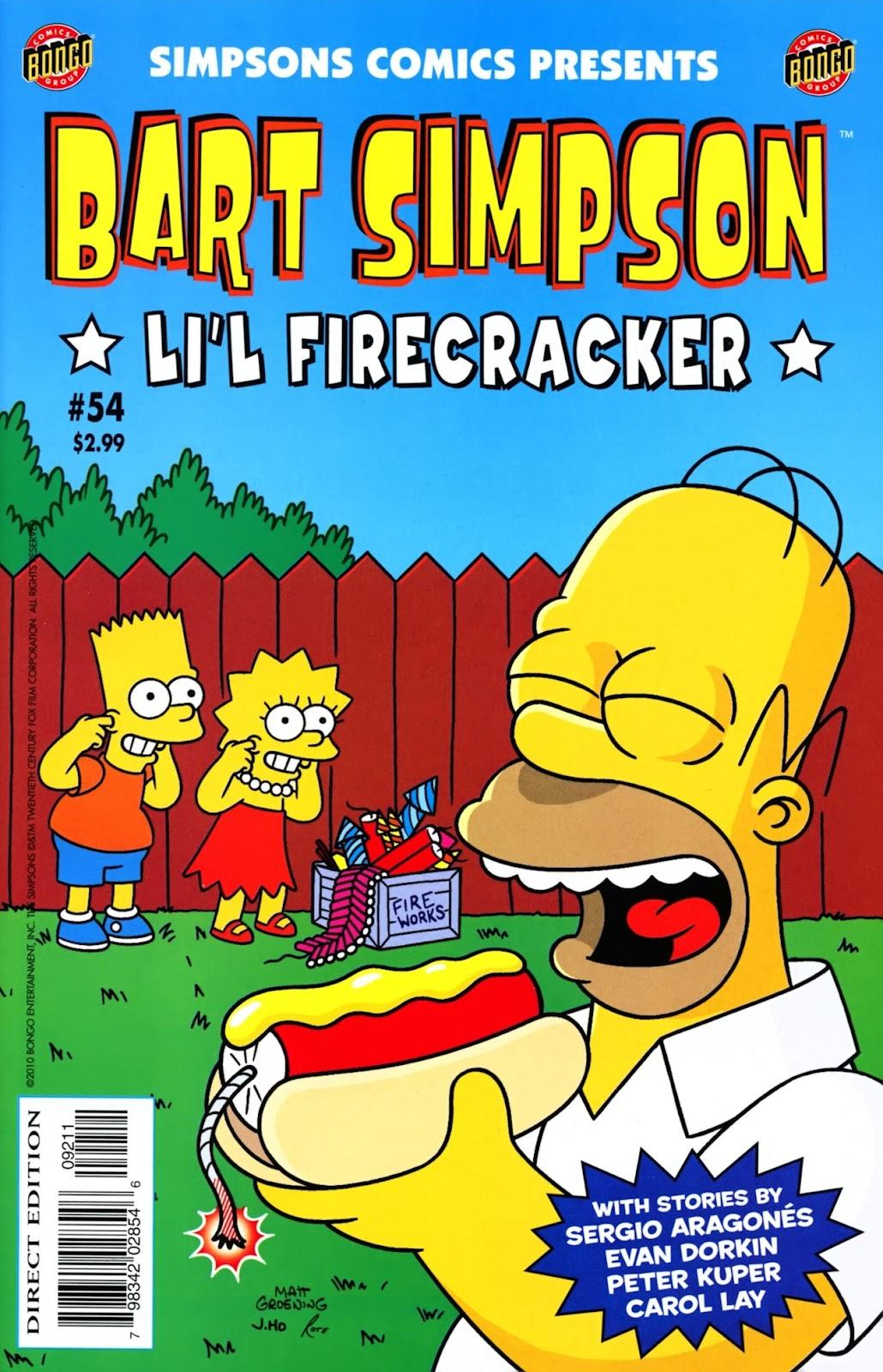 Simpsons Comics Presents Bart Simpson 54 Page 1