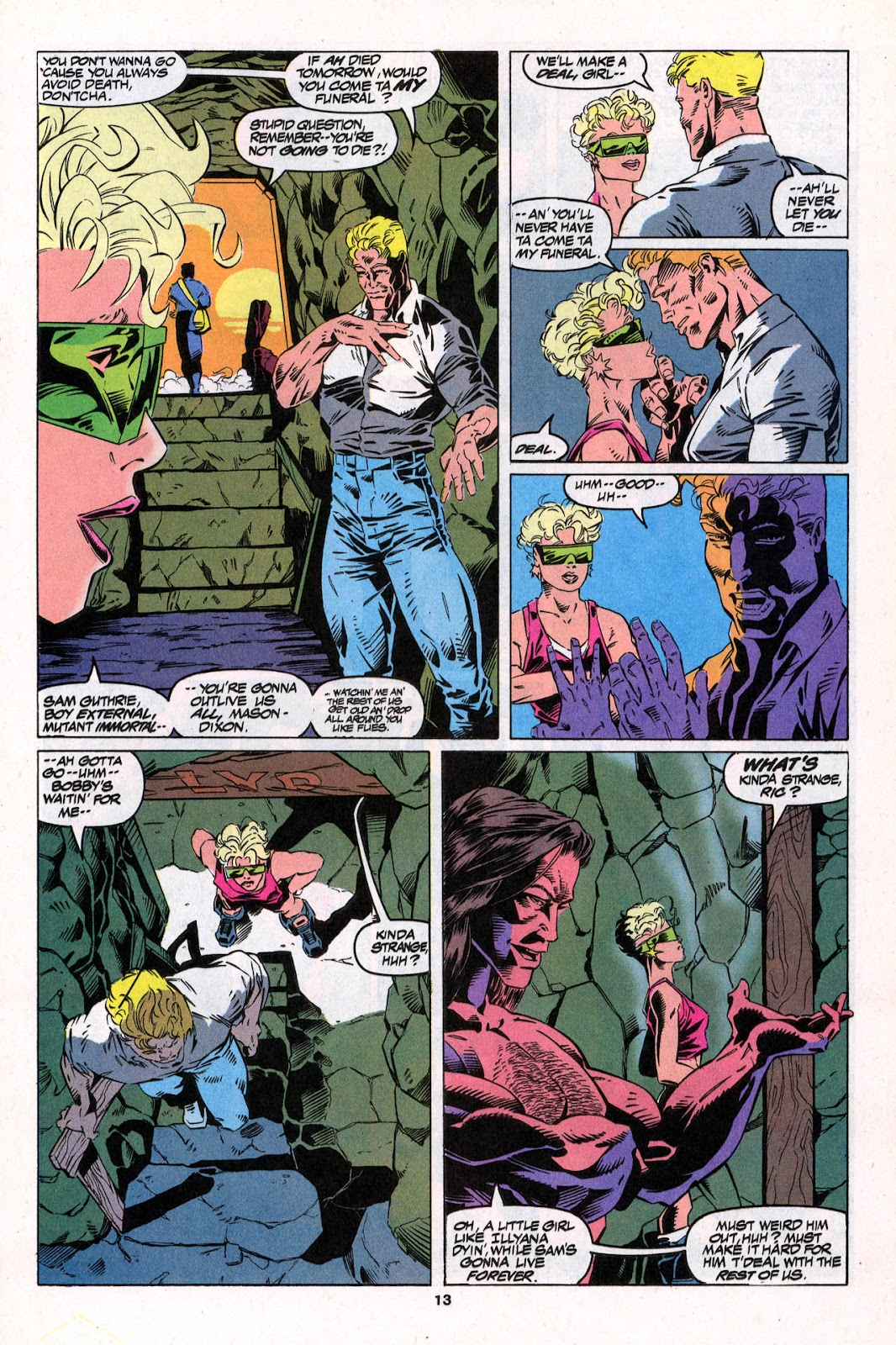 X-Force (1991) Issue #26 #31 - English 13