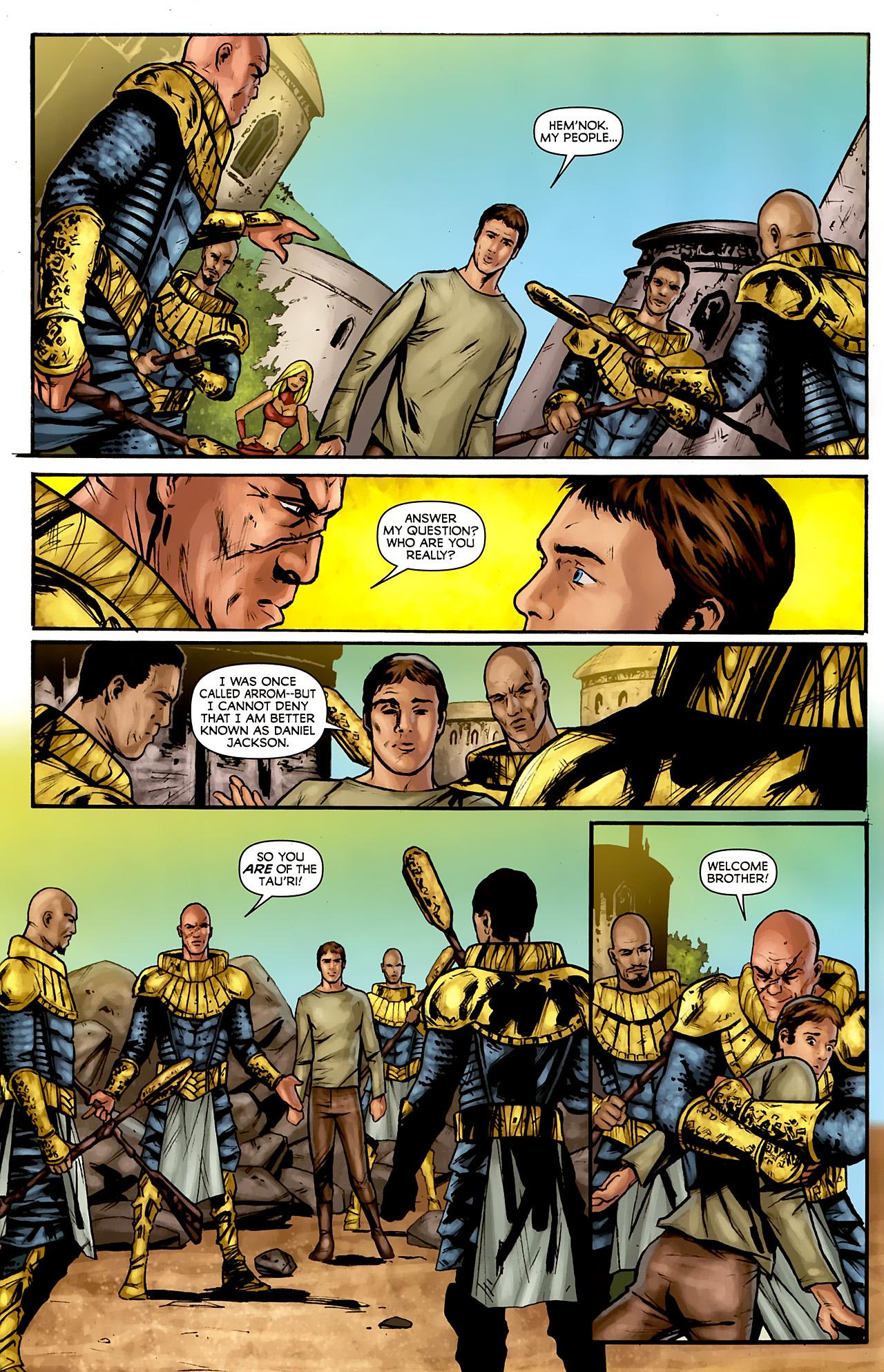Read online Stargate: Daniel Jackson comic -  Issue #3 - 4
