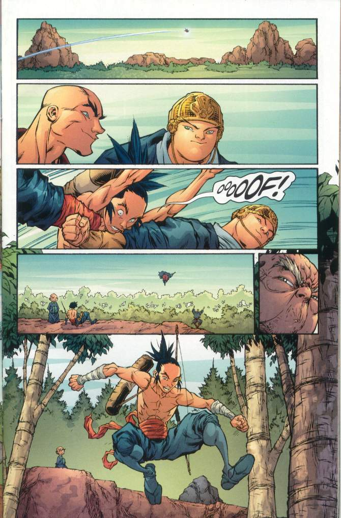 Read online Ninja Boy comic -  Issue #1 - 14