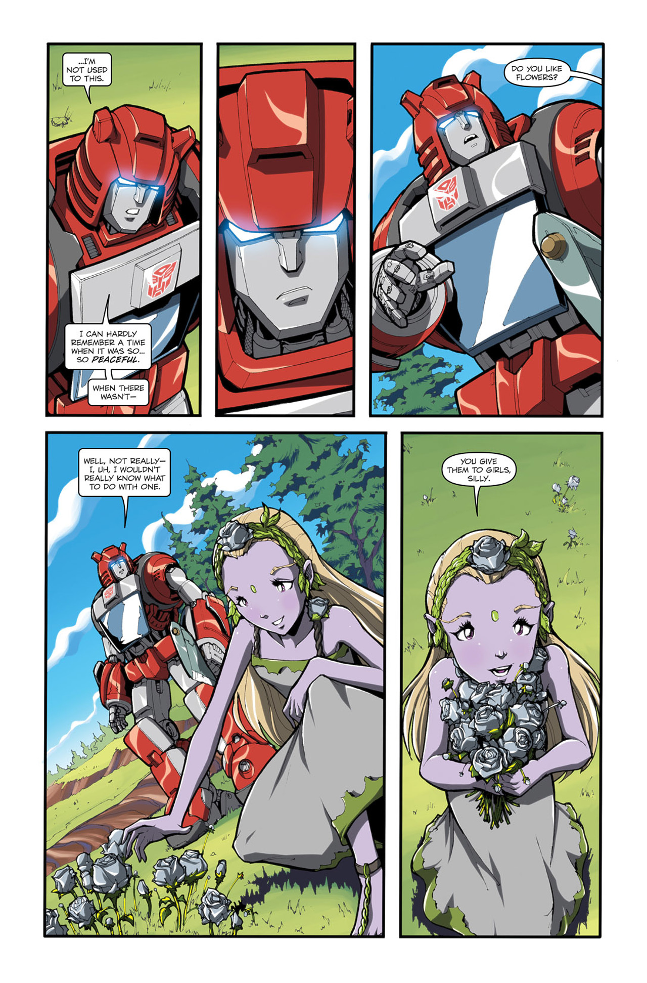 Read online Transformers Spotlight: Cliffjumper comic -  Issue # Full - 13