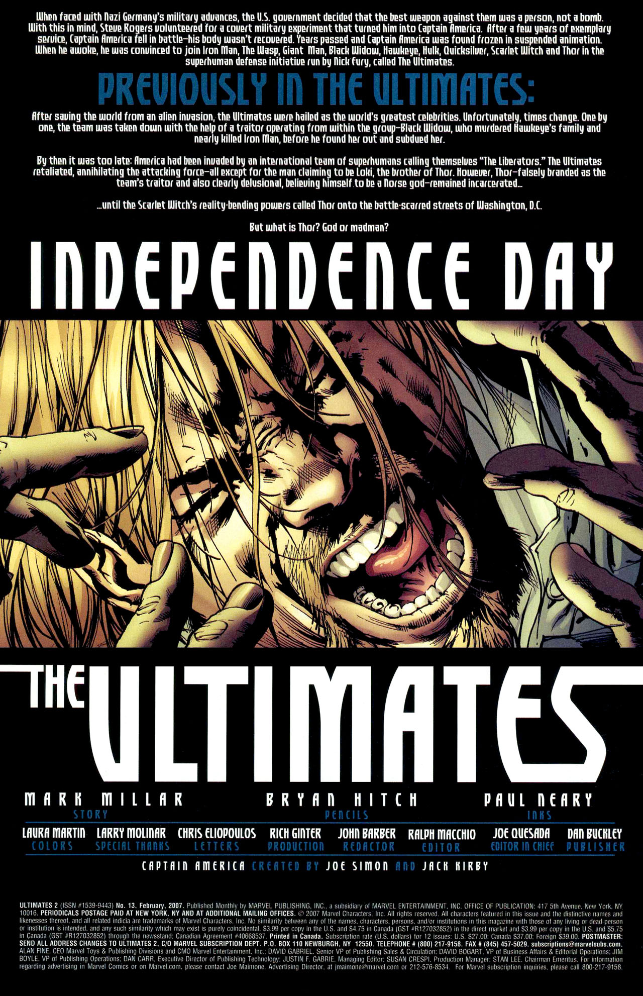 Read online Ultimates 2 comic -  Issue #13 - 3