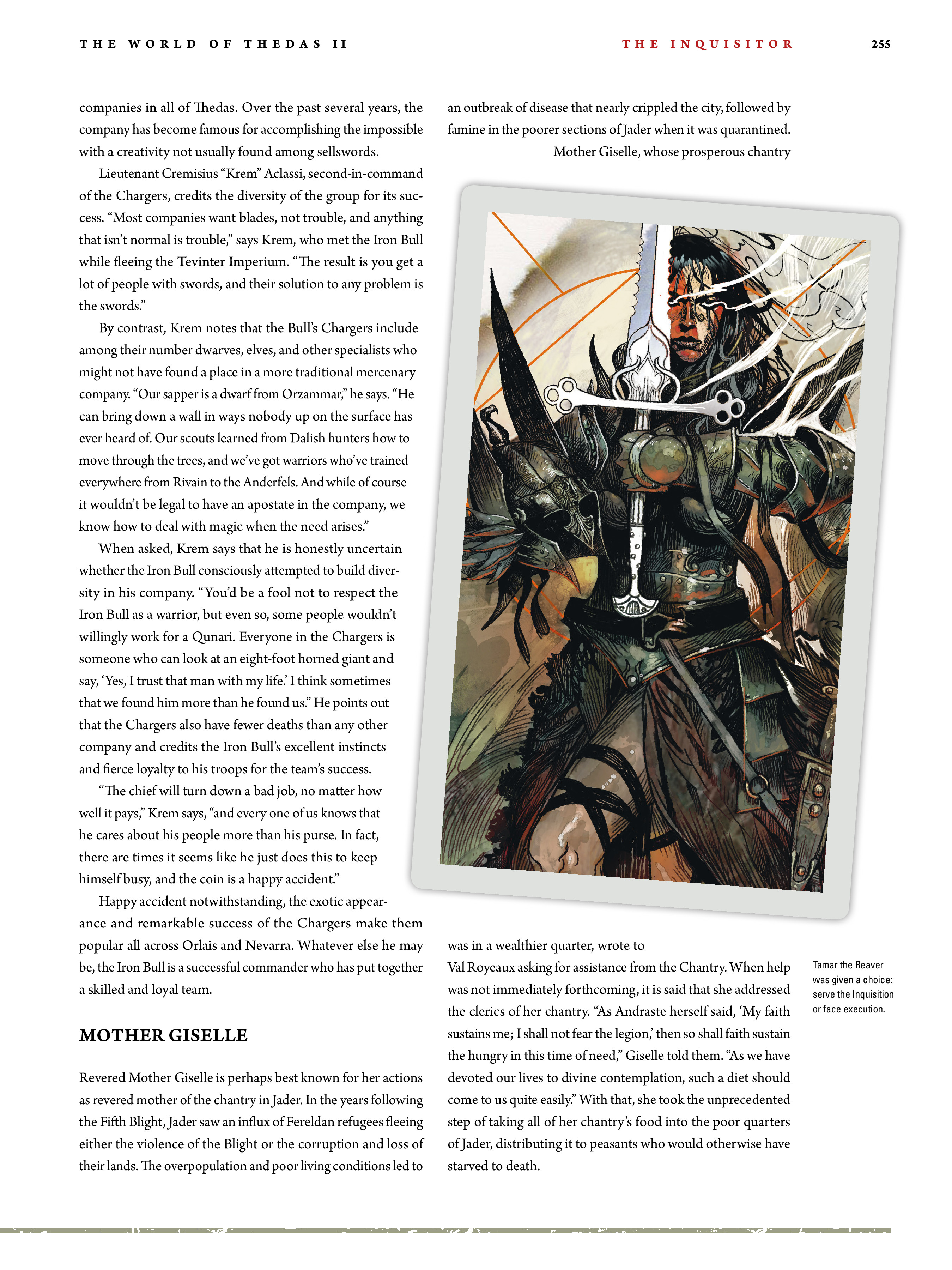 Read online Dragon Age: The World of Thedas comic -  Issue # TPB 2 - 248