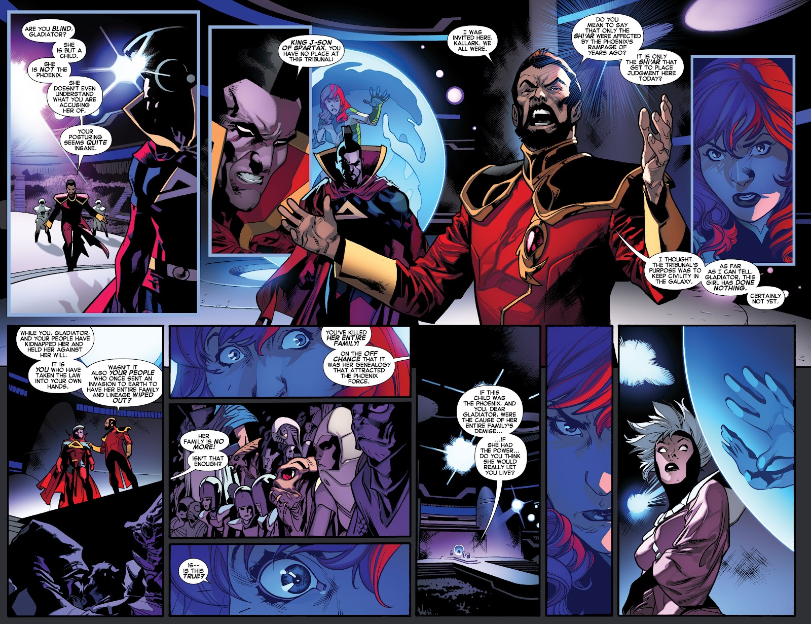 Guardians of the Galaxy/All-New X-Men: The Trial of Jean Grey issue TPB - Page 83