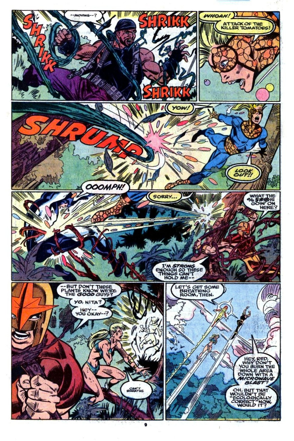 The New Warriors Issue #8 #12 - English 9