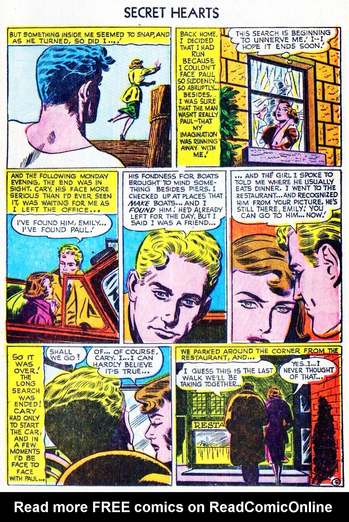 Read online Secret Hearts comic -  Issue #15 - 21