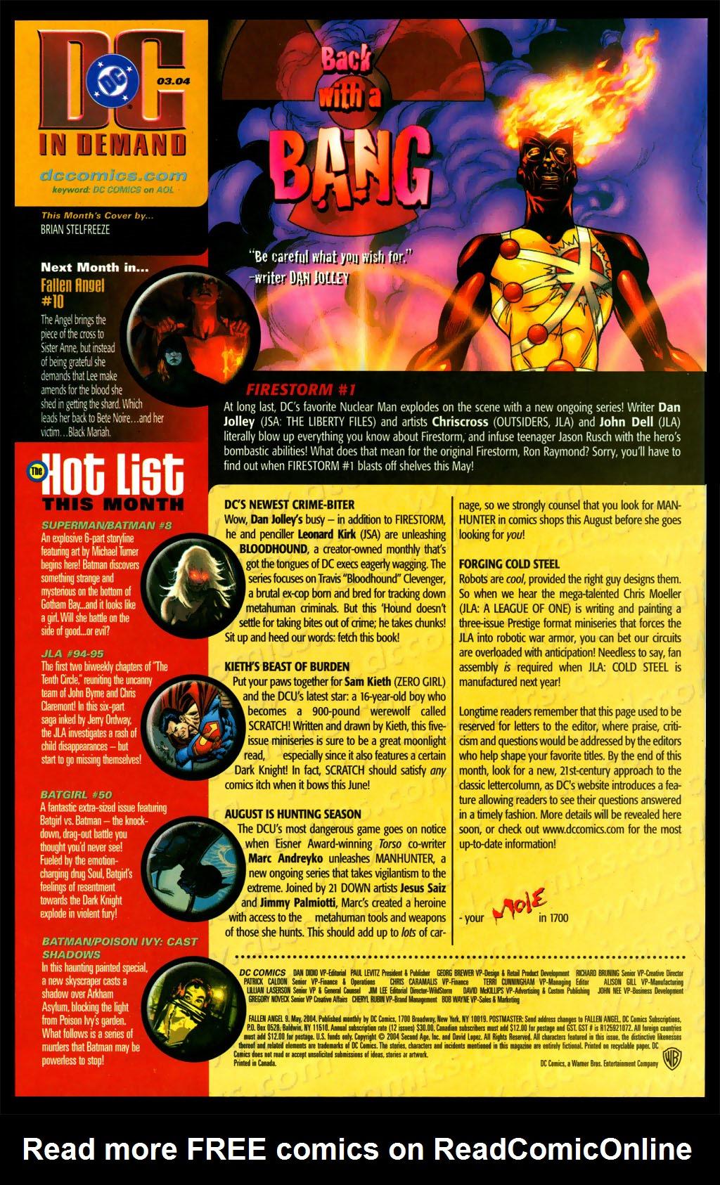Read online Fallen Angel (2003) comic -  Issue #9 - 24