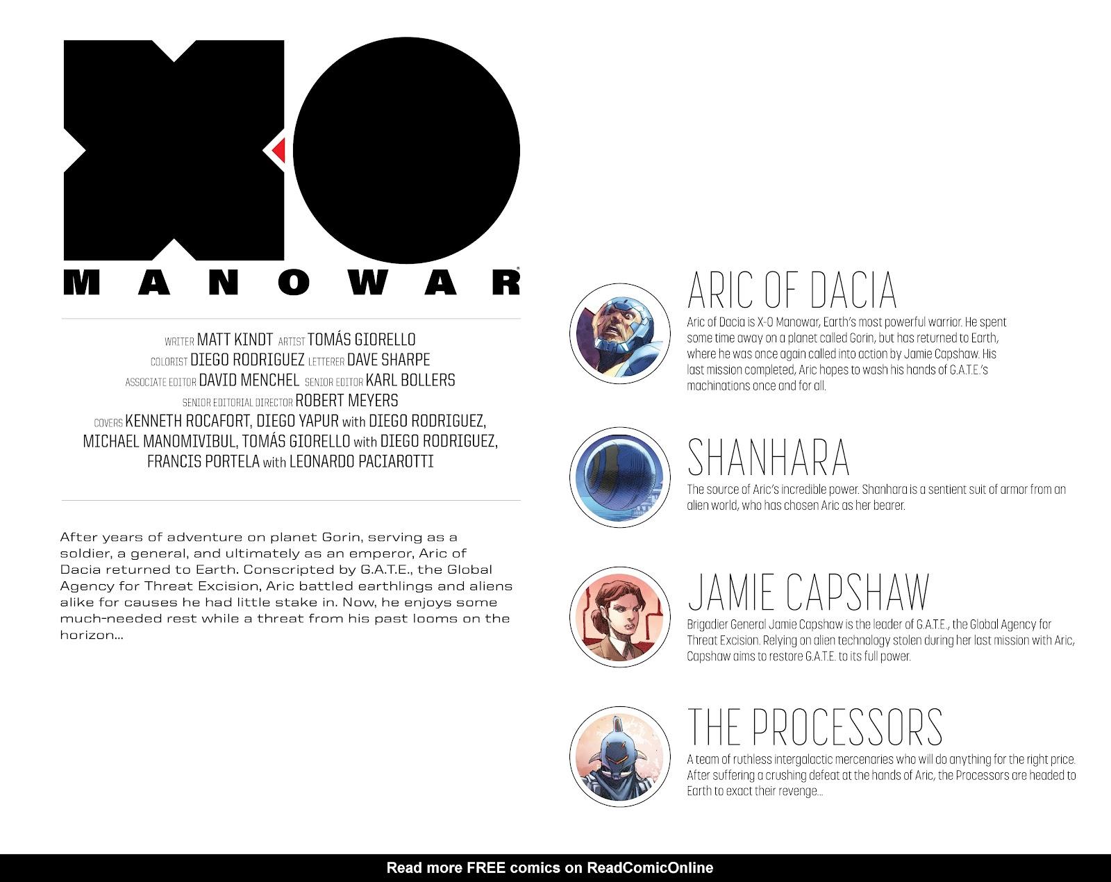 Read online X-O Manowar (2017) comic -  Issue #23 - 6