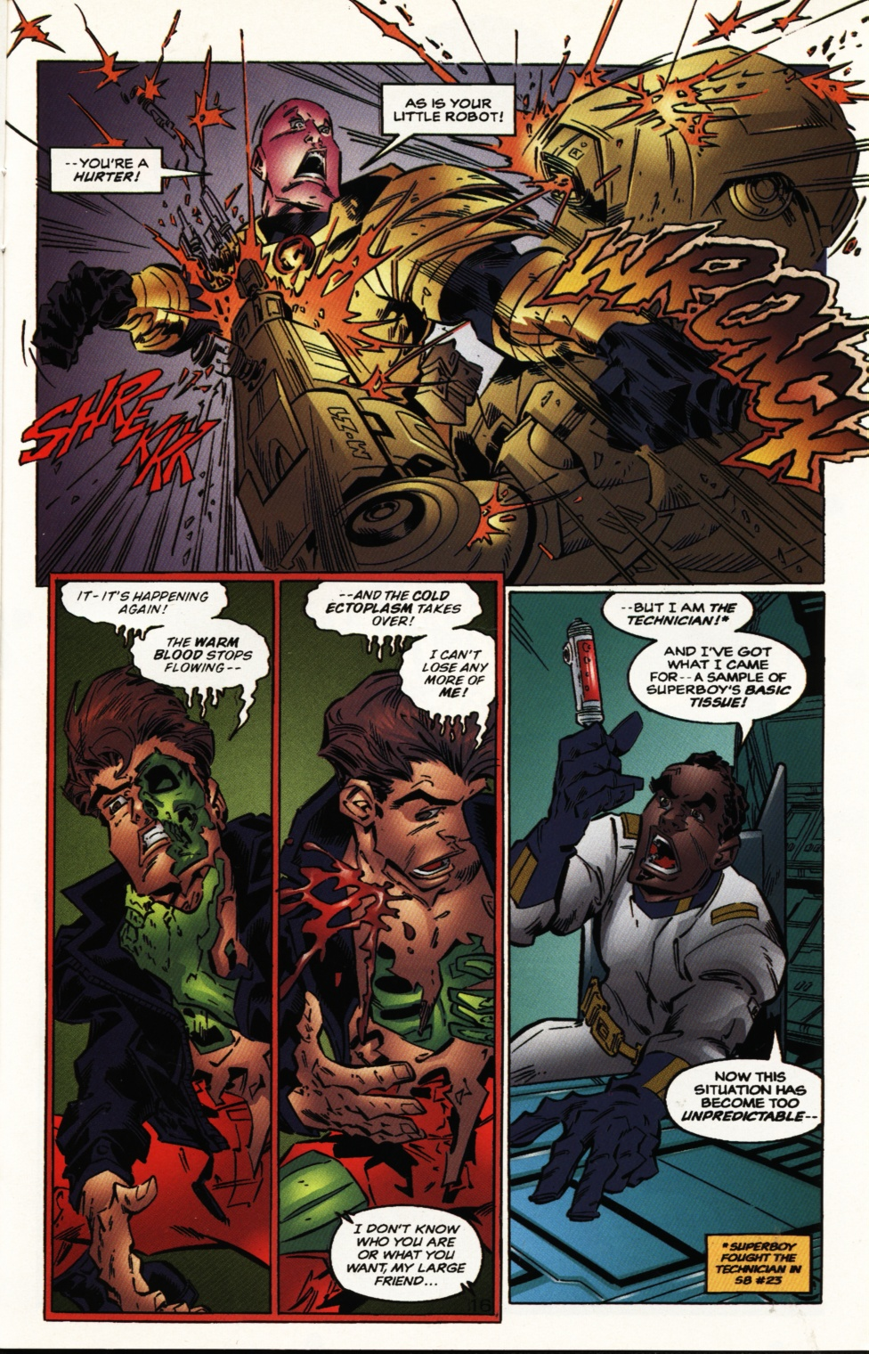 Read online Superboy & The Ravers comic -  Issue #10 - 16